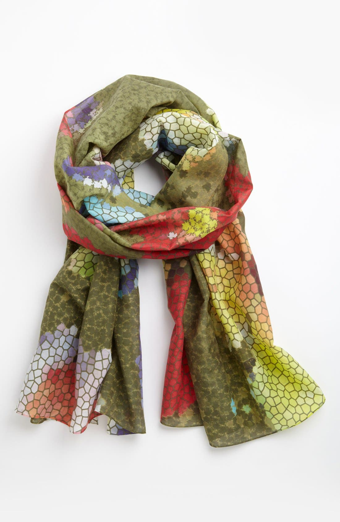 Main Image - Front Row Society 'Pansy Patch' Scarf