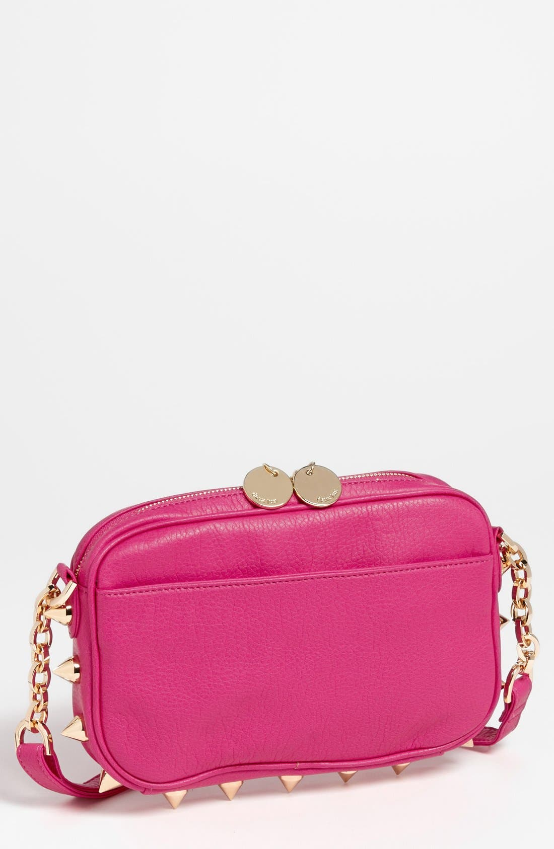 Alternate Image 1 Selected - Deux Lux 'Empire State' Faux Leather Crossbody Bag