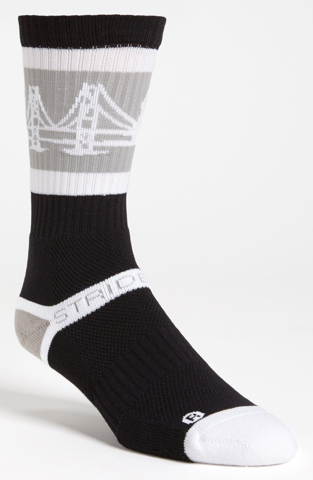 Alternate Image 1 Selected - STRIDELINE 'The Bay' Socks