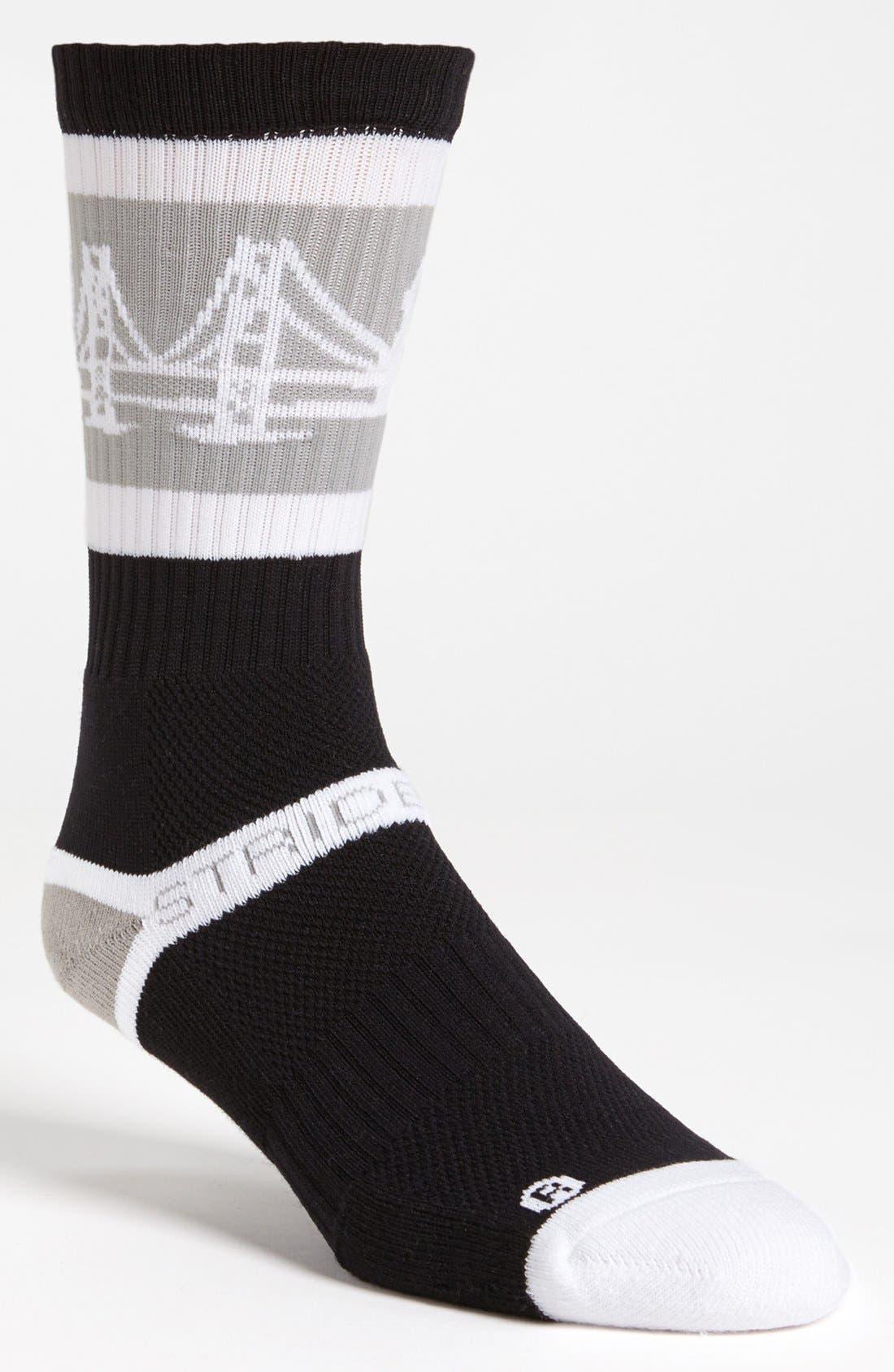 Main Image - STRIDELINE 'The Bay' Socks