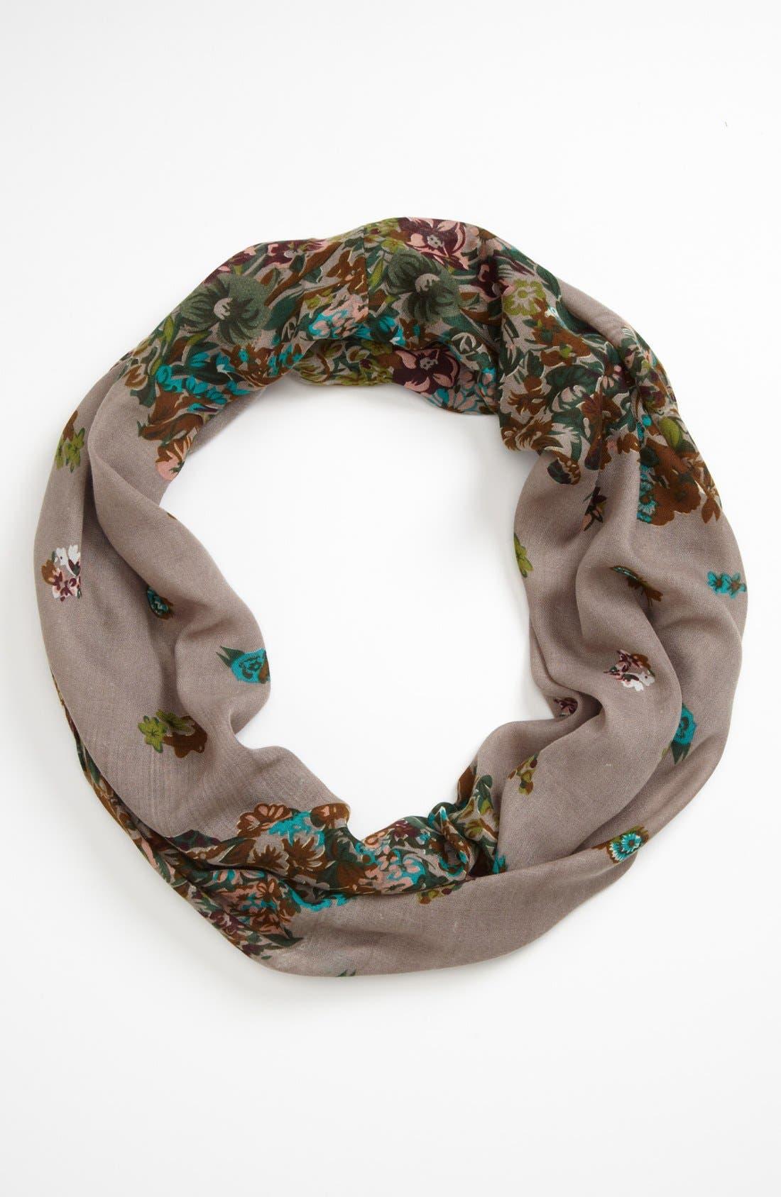 Main Image - Natasha Couture 'Autumnal Bouquet' Infinity Scarf