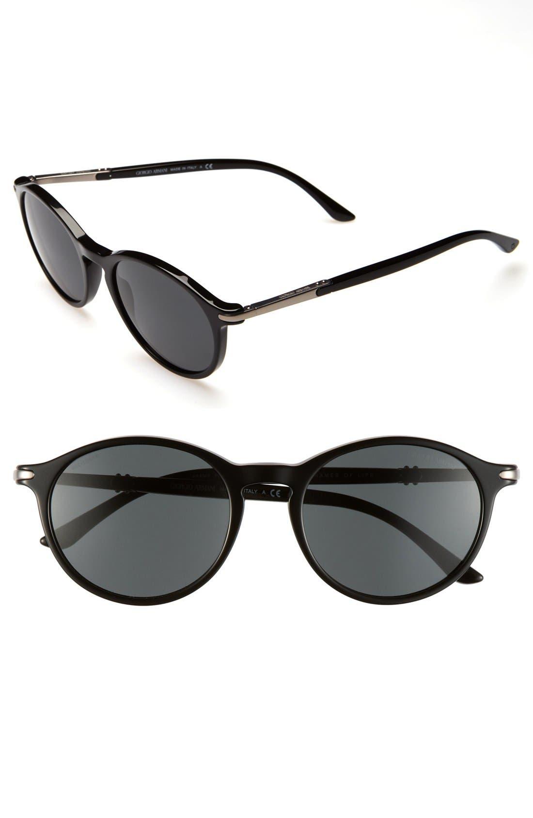 Alternate Image 1 Selected - Giorgio Armani 52mm Sunglasses