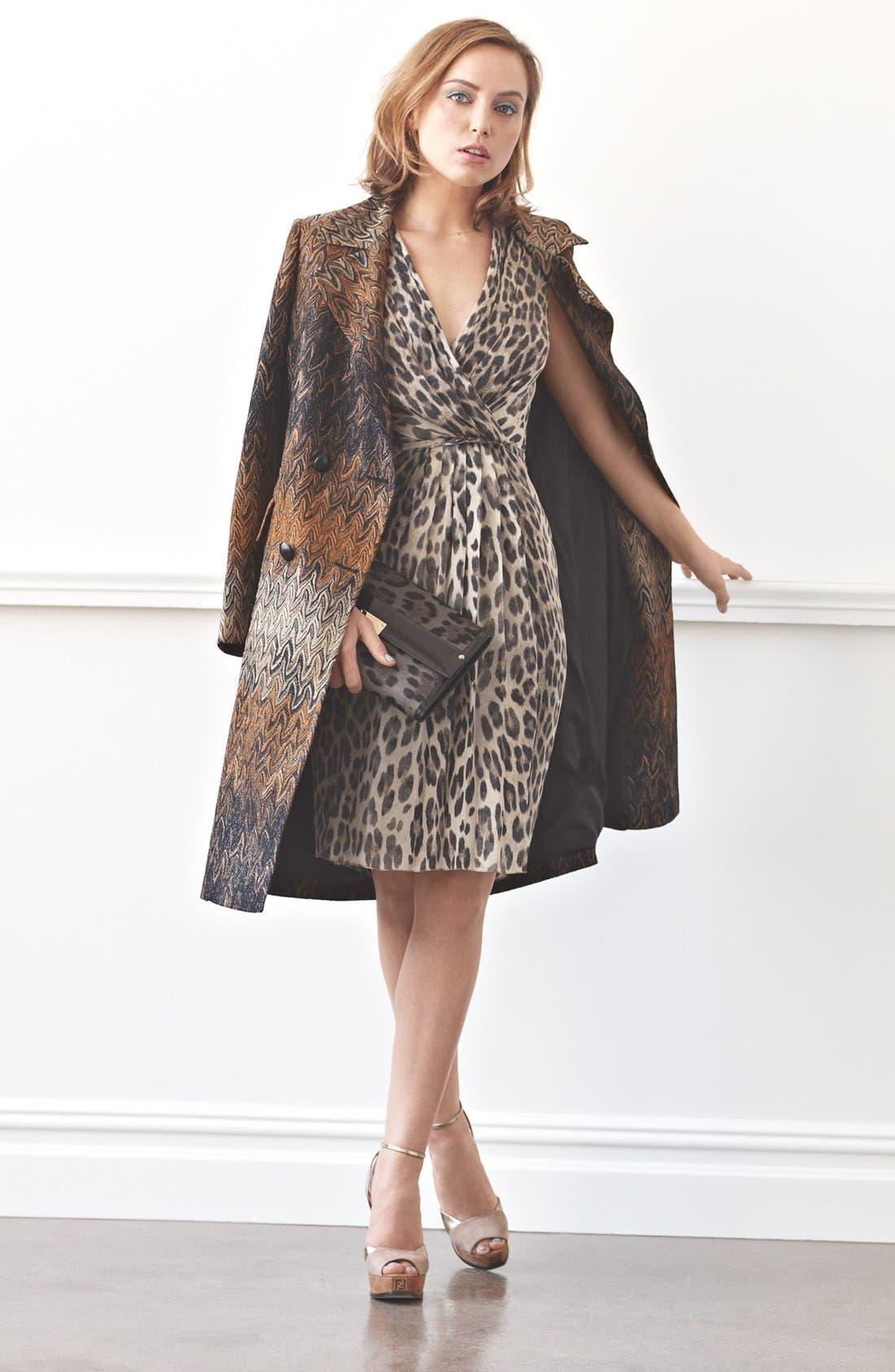Alternate Image 2  - Missoni Long Flame Stitch Coat
