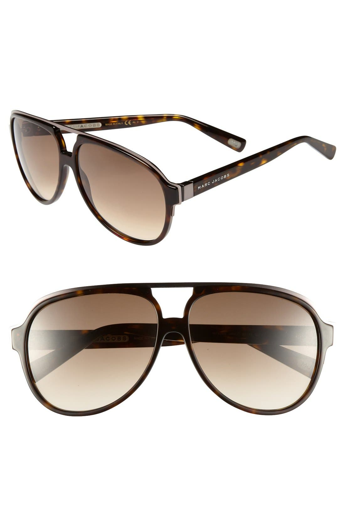Alternate Image 1 Selected - MARC JACOBS 60mm Sunglasses