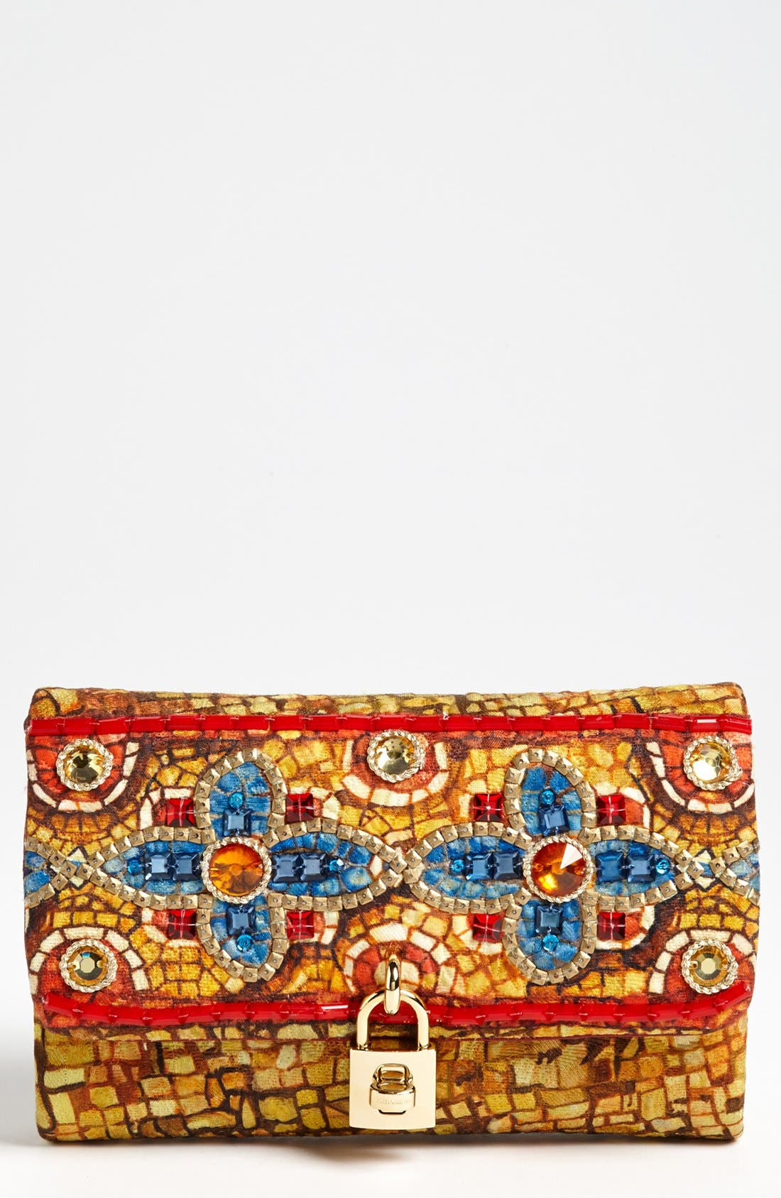 Main Image - Dolce&Gabbana 'Miss Dolce - Greek Mosaic' Shoulder Bag