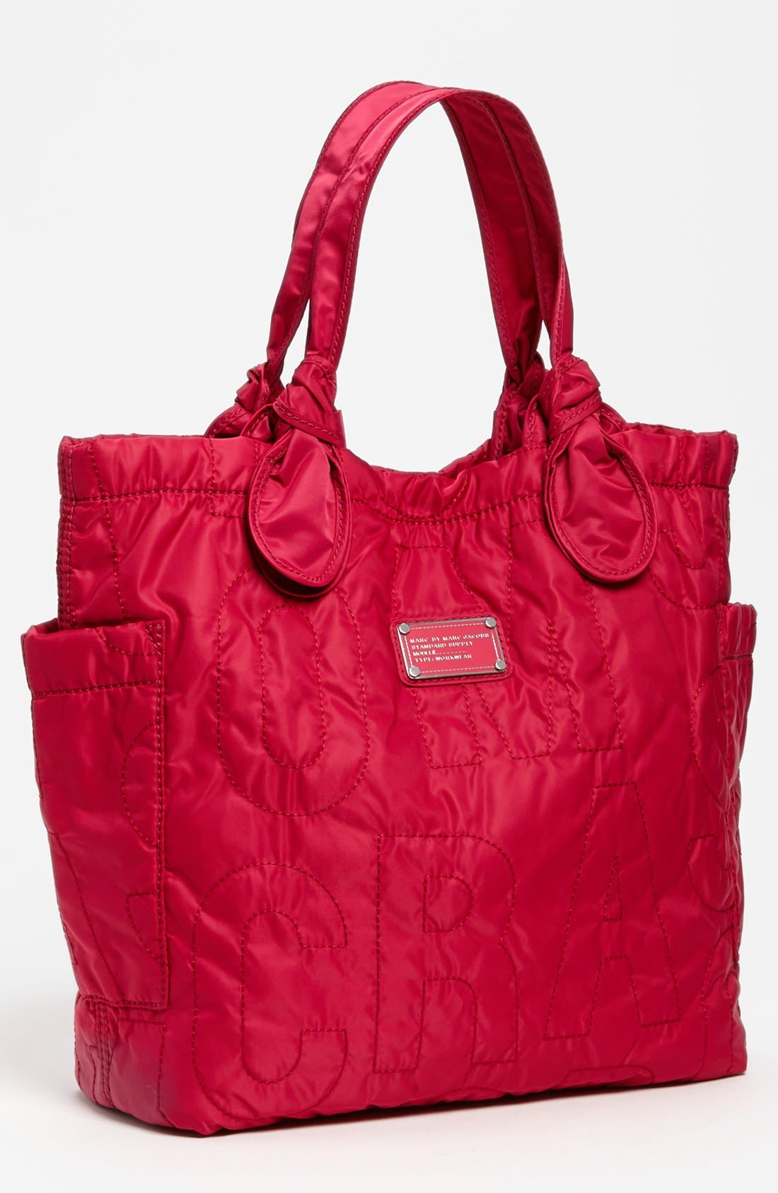 MARC BY MARC JACOBS 'Pretty Nylon Tate - Medium' Tote,                         Main,                         color, Rose Petal