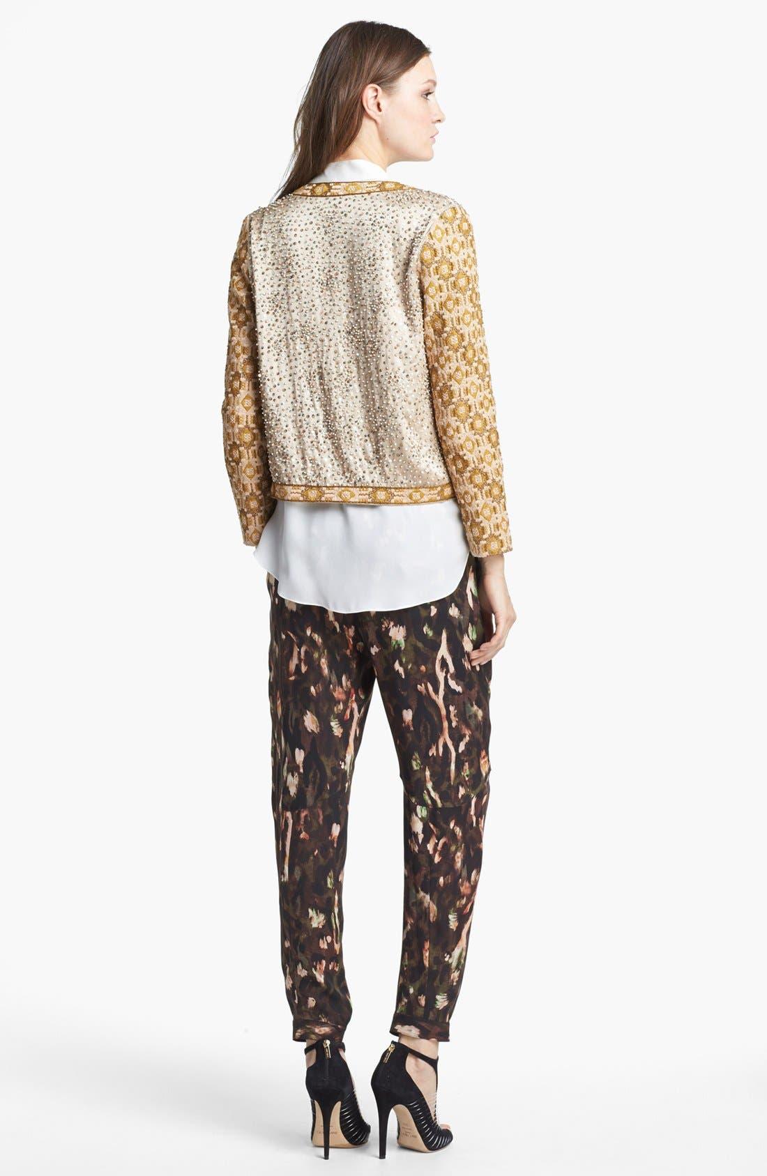 Alternate Image 3  - Haute Hippie Embellished Silk Jacket