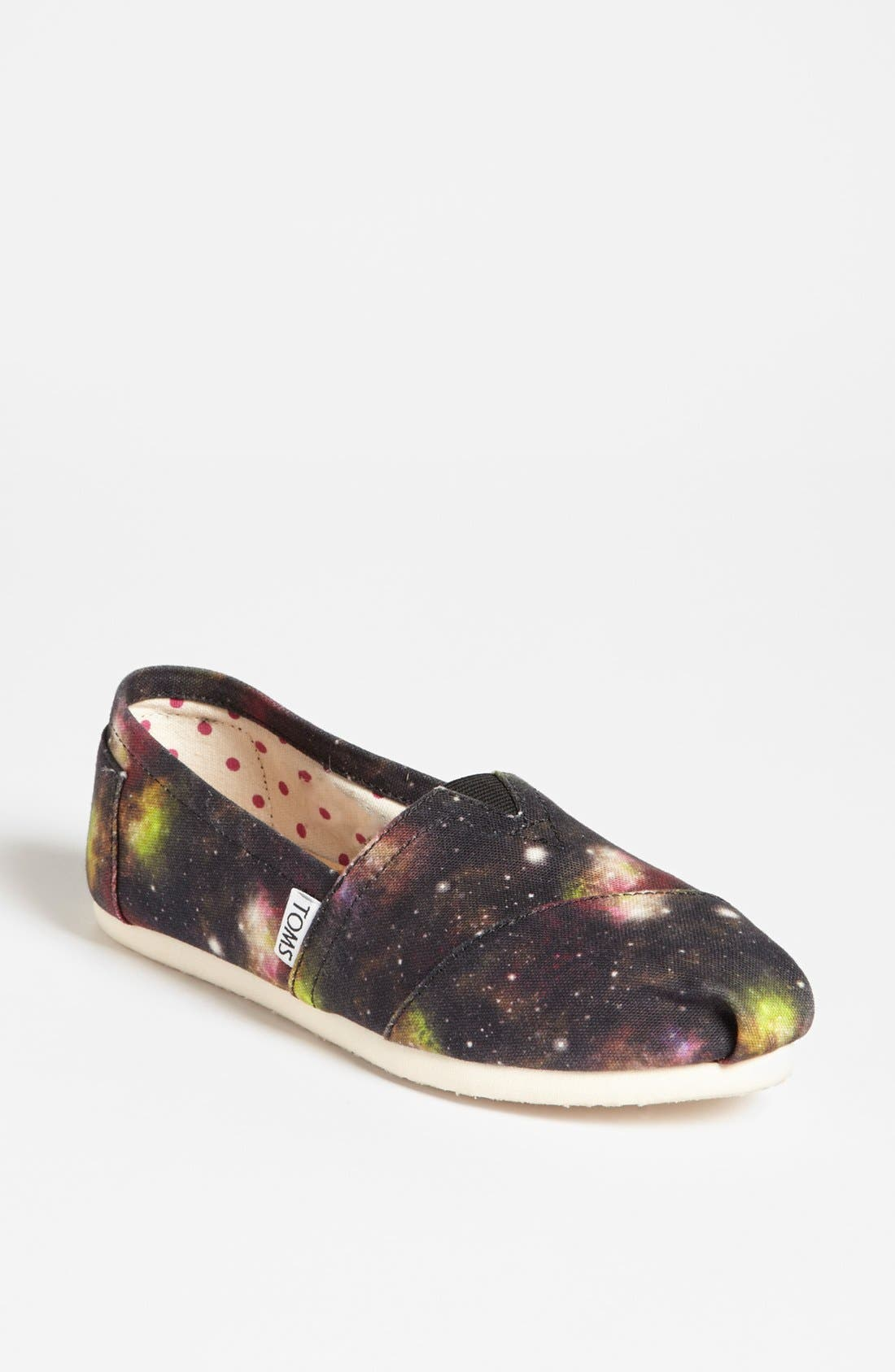 Alternate Image 1 Selected - TOMS 'Classic - Black Nebula' Slip-On (Women) (Exclusive Color)