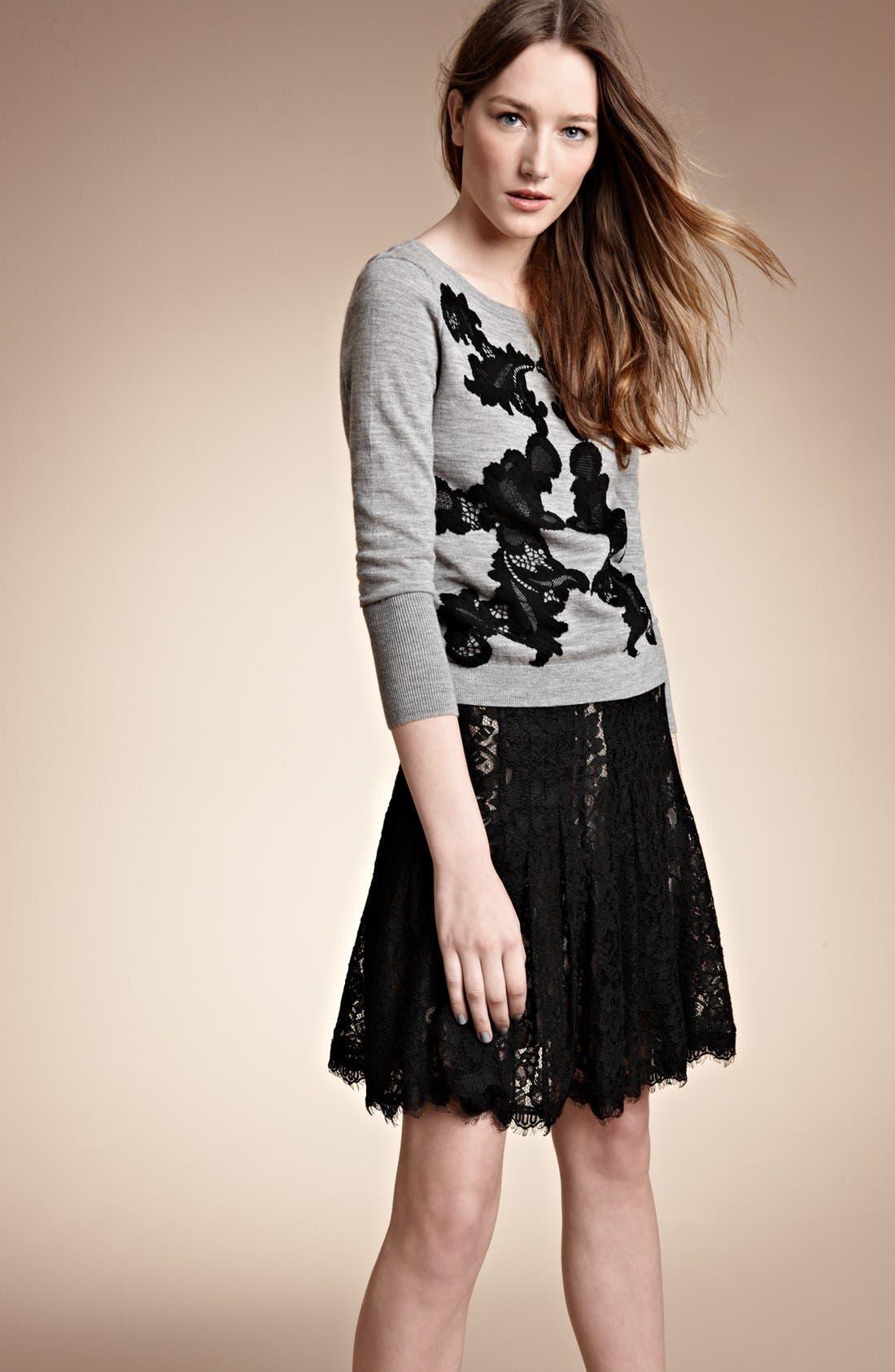 Alternate Image 4  - Diane von Furstenberg 'Kiernan' Lace Skirt