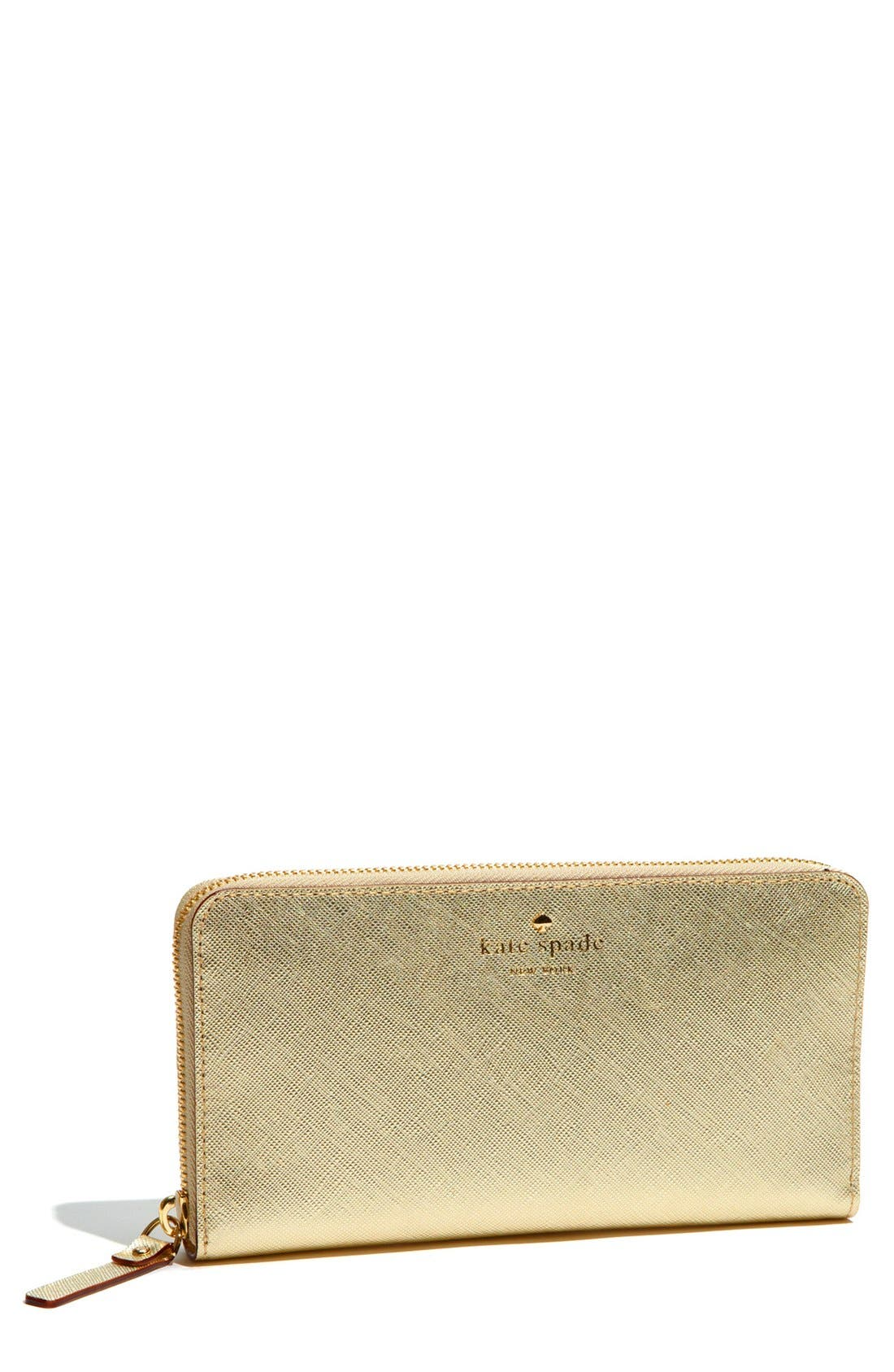 Main Image - kate spade new york 'mikas pond - lacey' zip around wallet