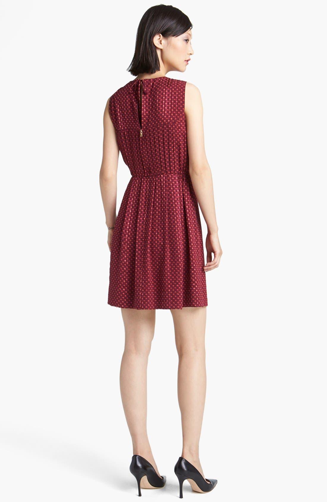 Alternate Image 2  - MARC BY MARC JACOBS 'Minetta' Print Silk A-Line Dress