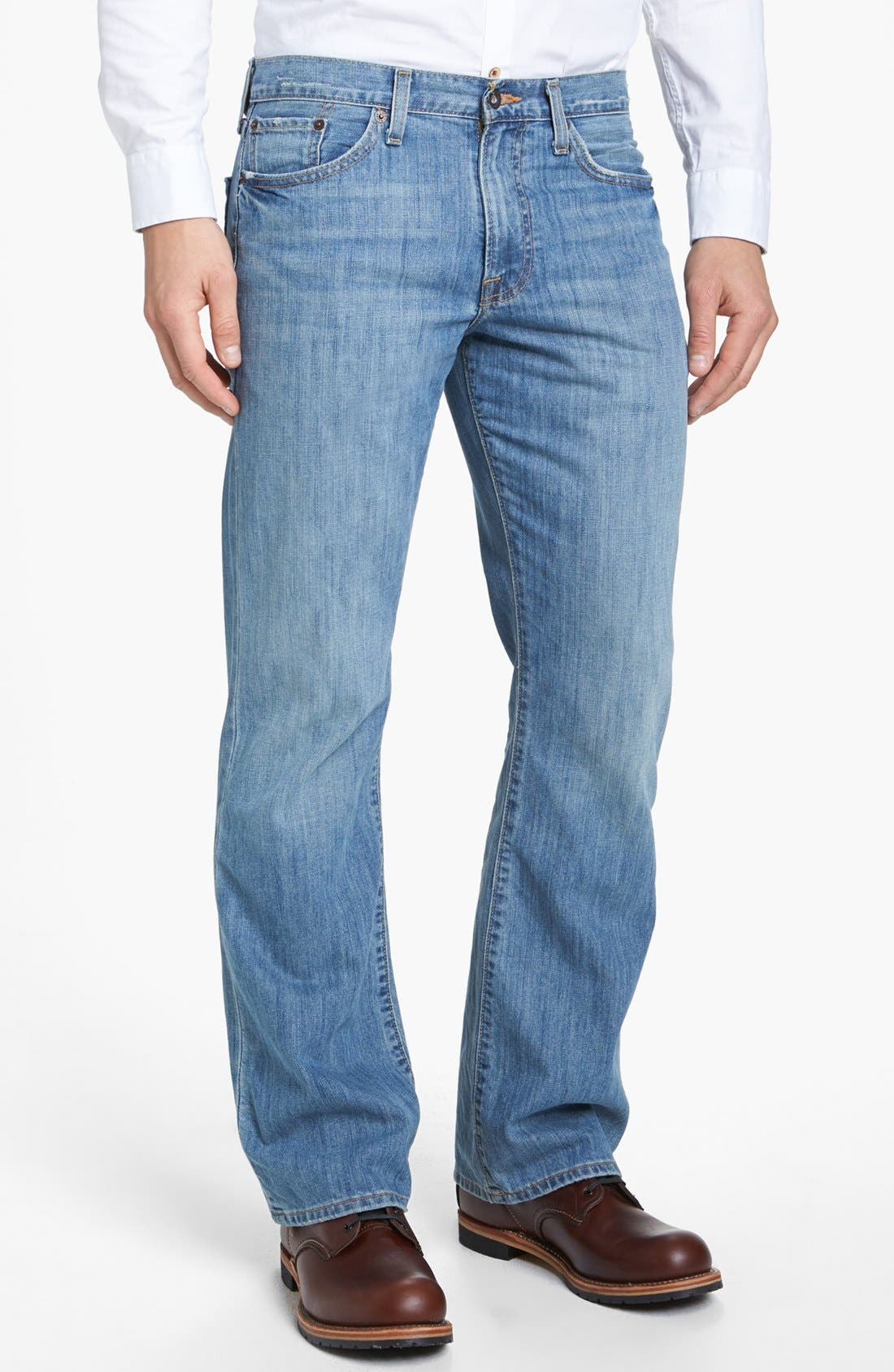 Main Image - Lucky Brand '367 Vintage' Bootcut Jeans (Chambers)