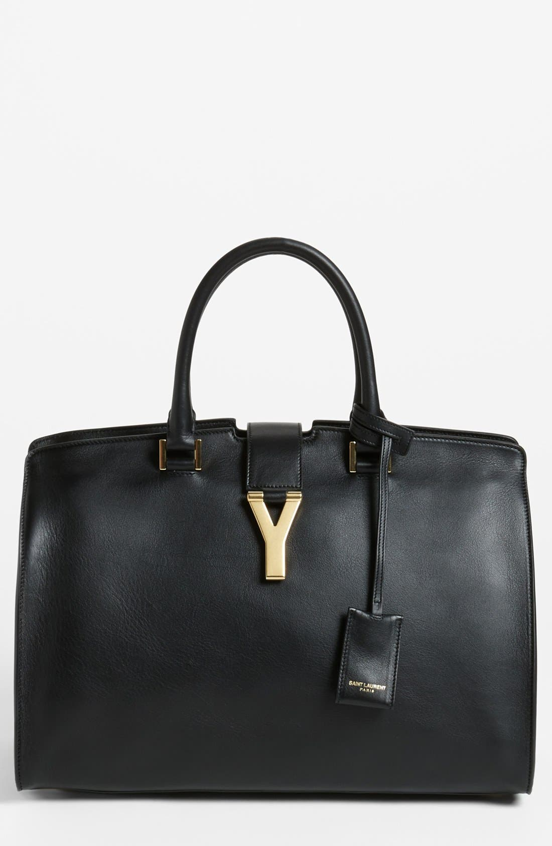 Main Image - Saint Laurent 'Ligne Y' Leather Satchel