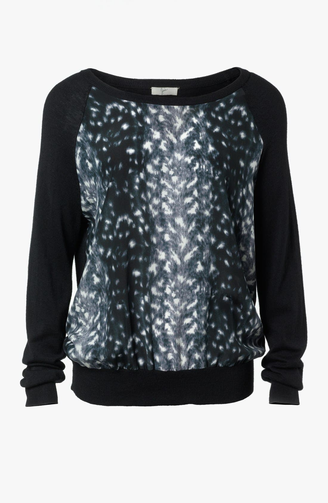 Alternate Image 5  - Joie 'Malena B.' Mixed Media Sweater