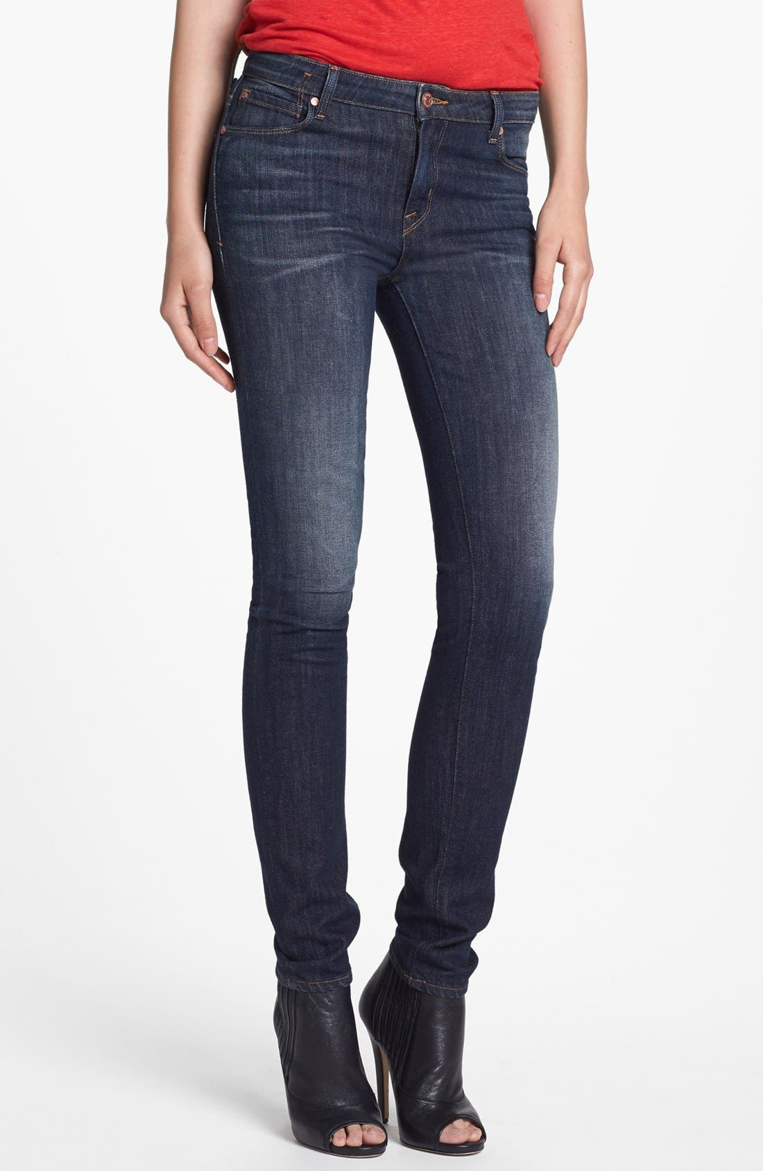 Alternate Image 1 Selected - MARC BY MARC JACOBS 'Gaia' Super Skinny Jeans