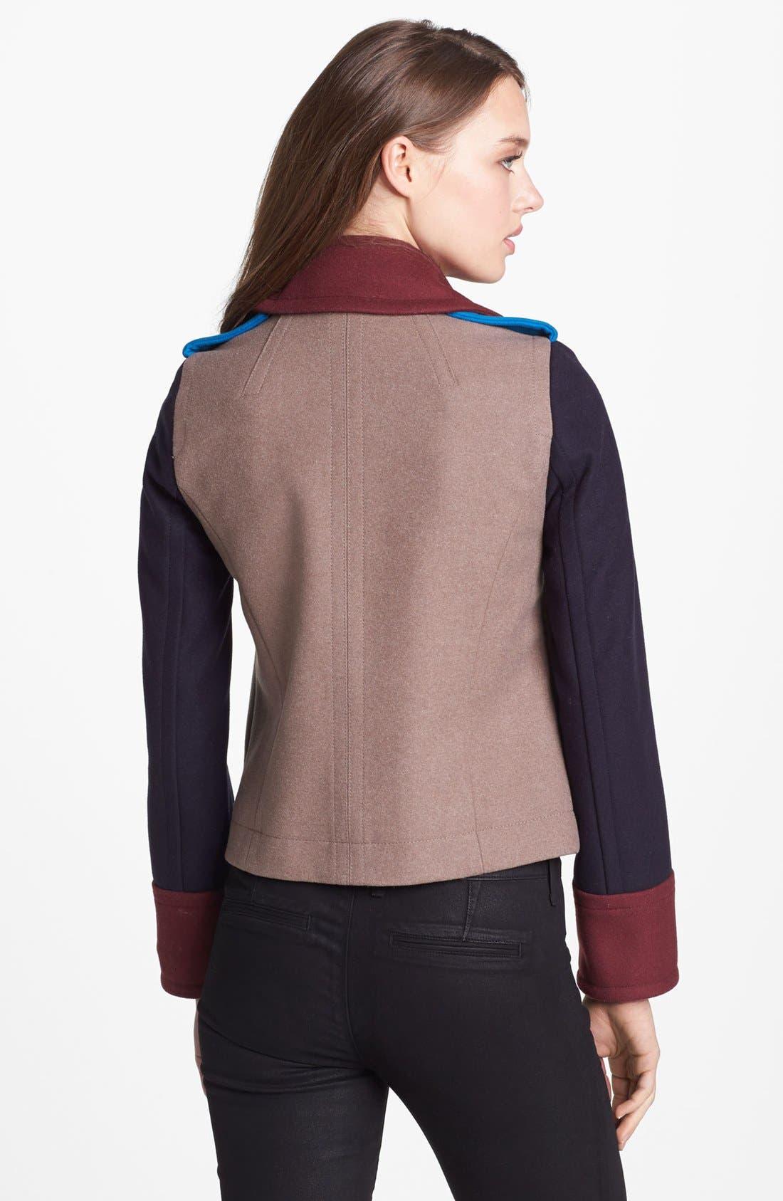 Alternate Image 2  - MARC BY MARC JACOBS 'Nicoletta' Colorblock Crop Jacket