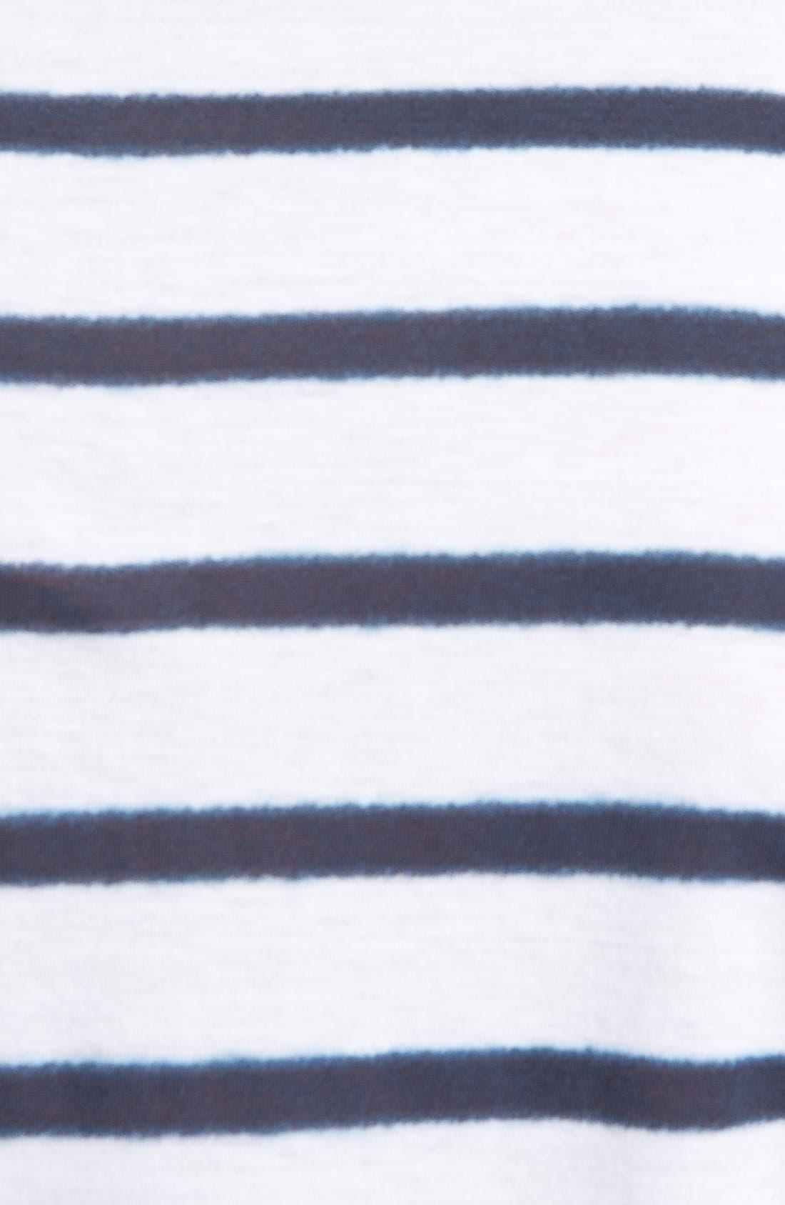 Alternate Image 3  - A.P.C. Stripe Crewneck T-Shirt