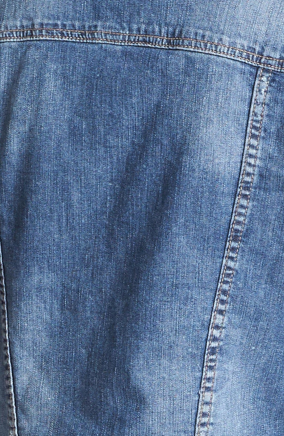 Alternate Image 3  - KUT from the Kloth Denim Jacket (Petite)