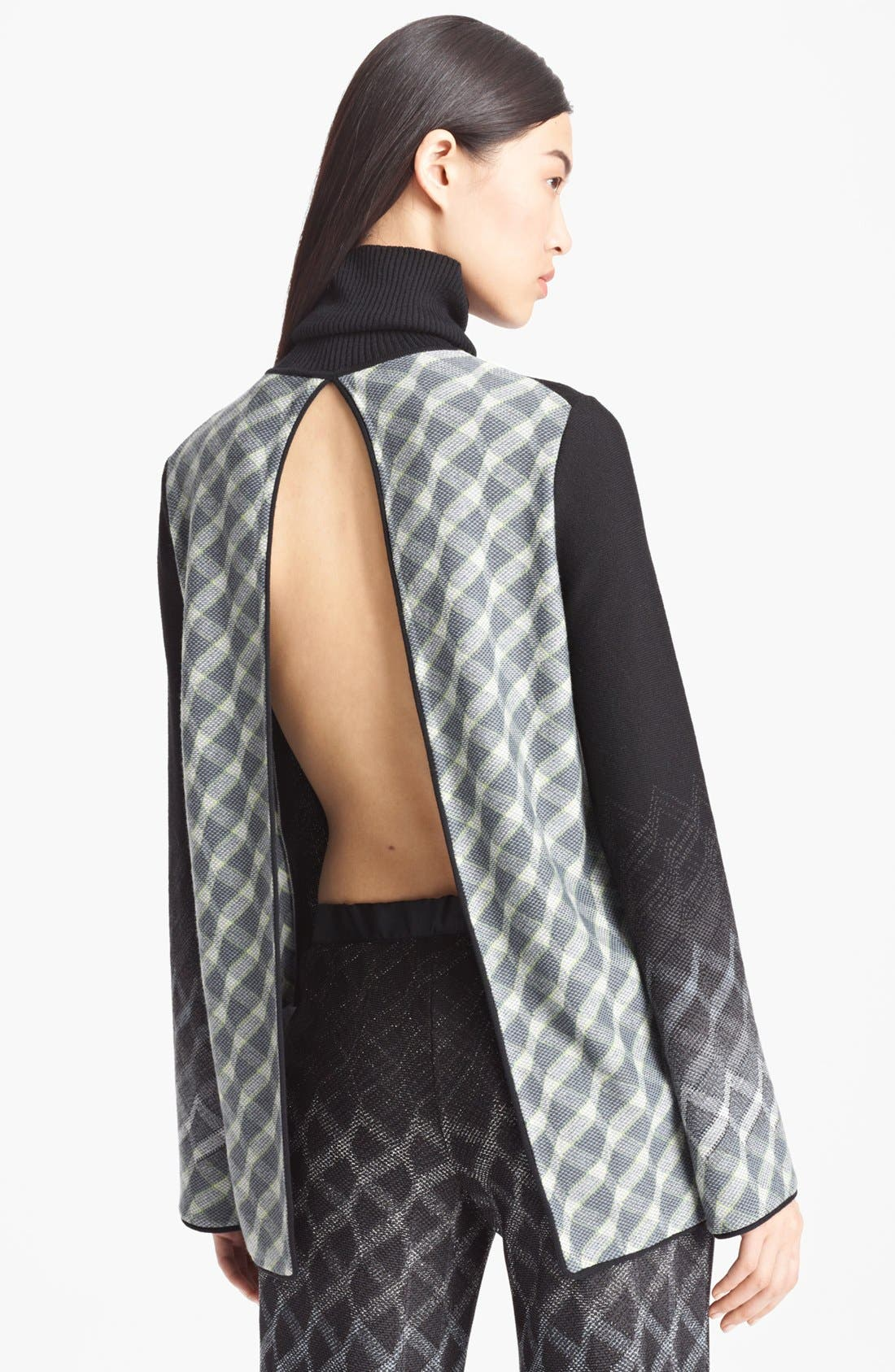 Alternate Image 3  - Missoni Open Back Turtleneck Sweater