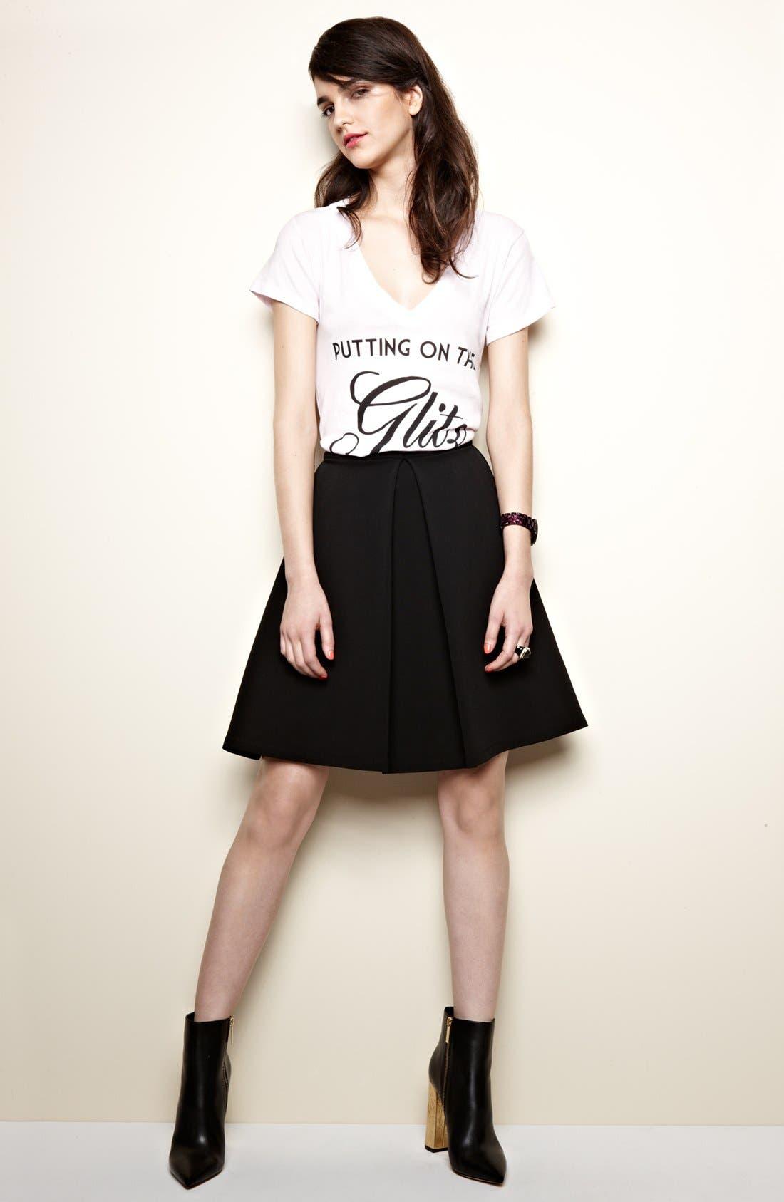 Alternate Image 3  - Devlin Pleated Skirt