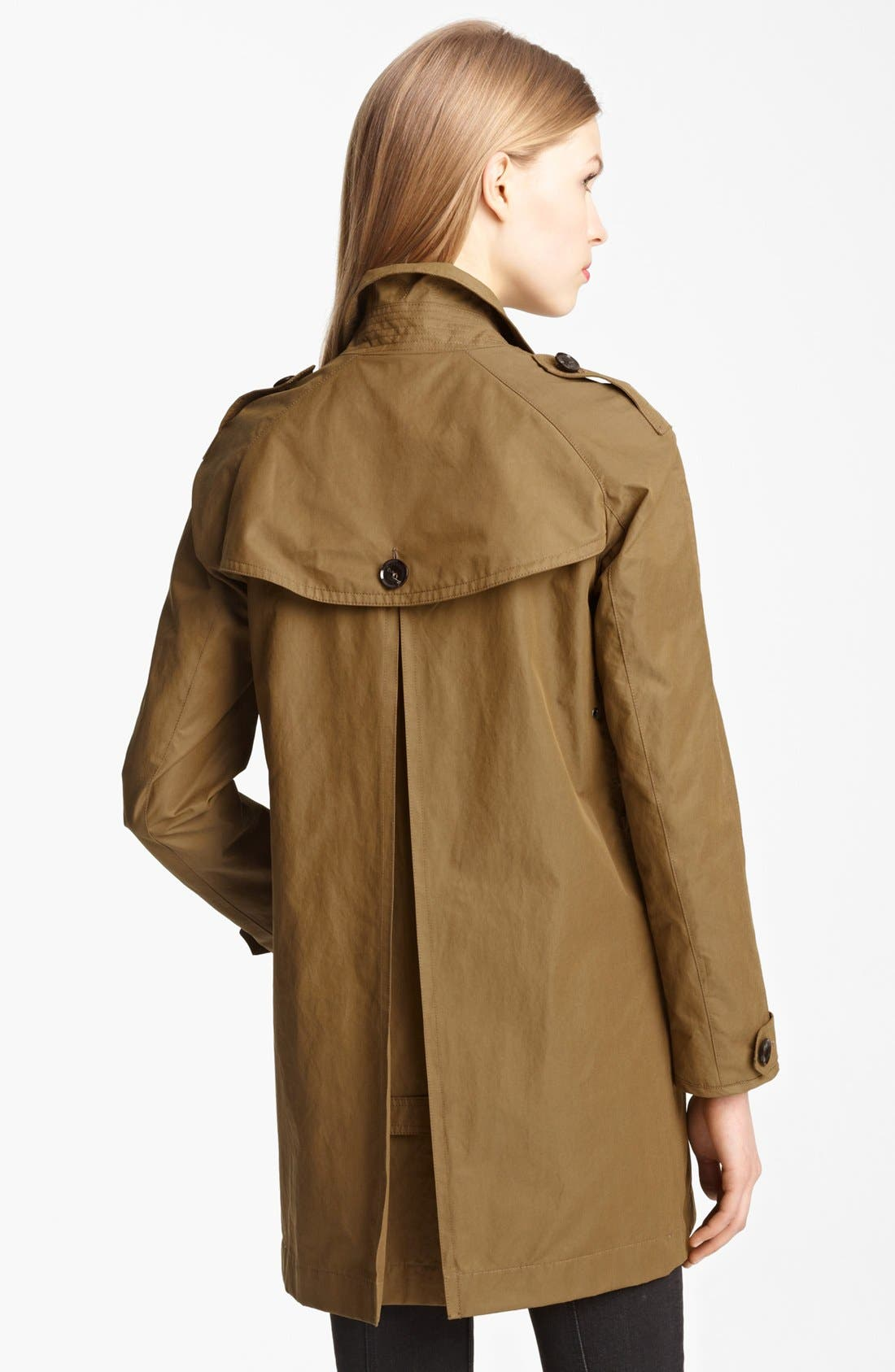 Alternate Image 2  - Burberry Brit 'Eminford' Trench Coat (Online Only)