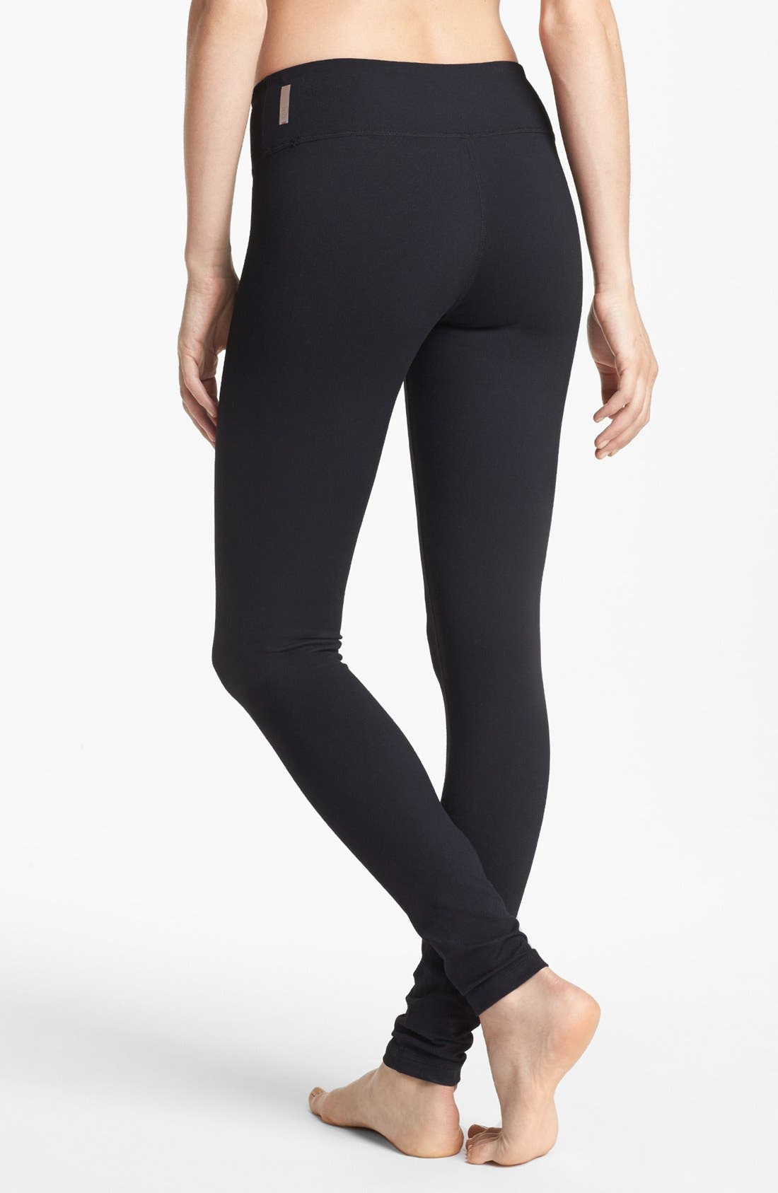 Live In Leggings,                             Alternate thumbnail 2, color,                             Black