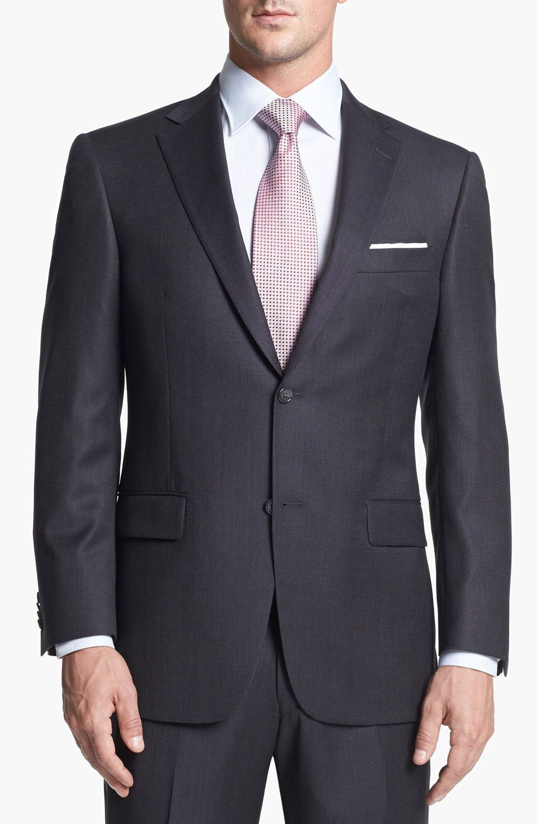 Alternate Image 4  - Hart Schaffner Marx Classic Fit Wool Suit