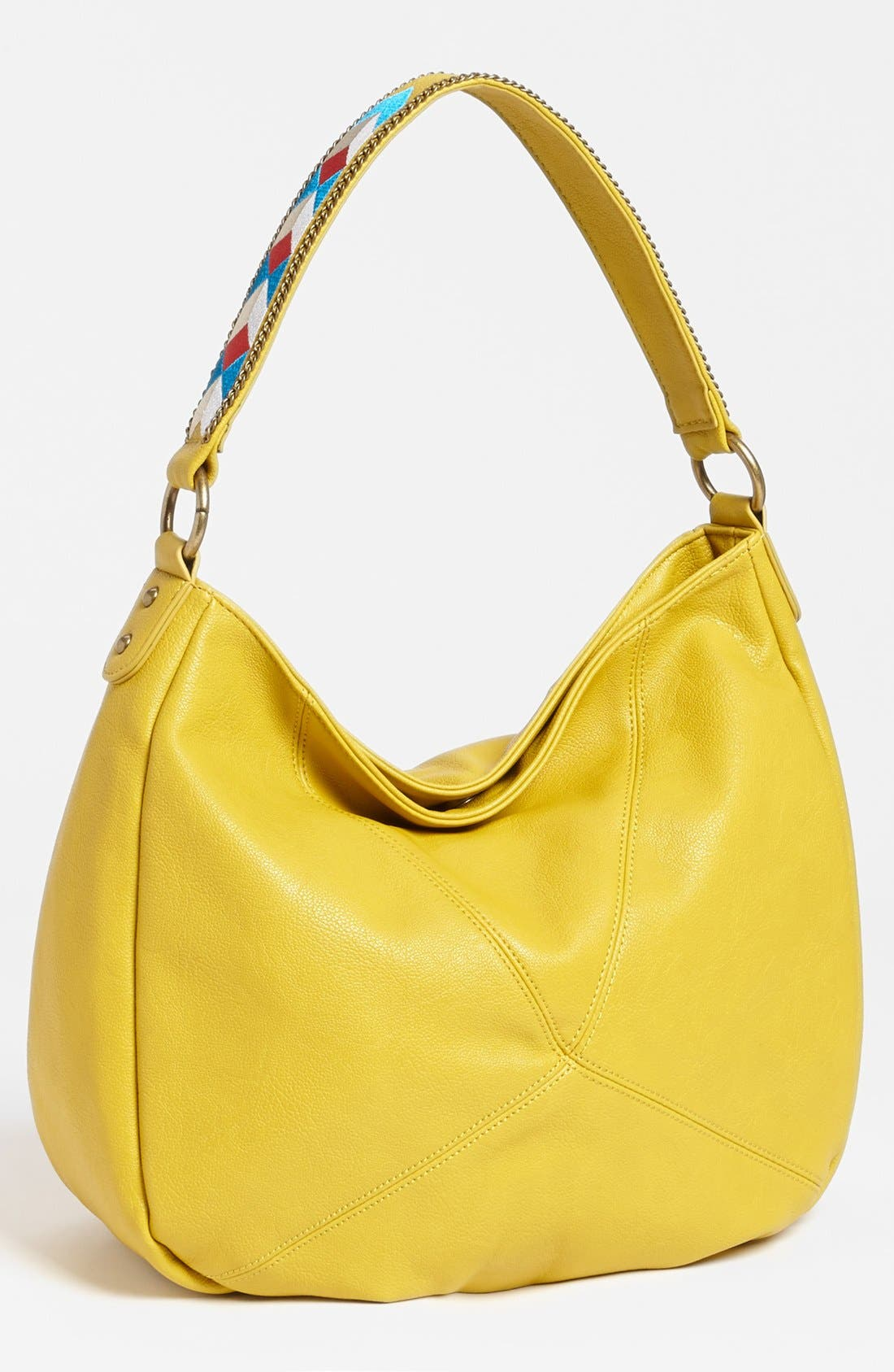 Alternate Image 1 Selected - Jessica Simpson 'Zulu' Faux Leather Hobo