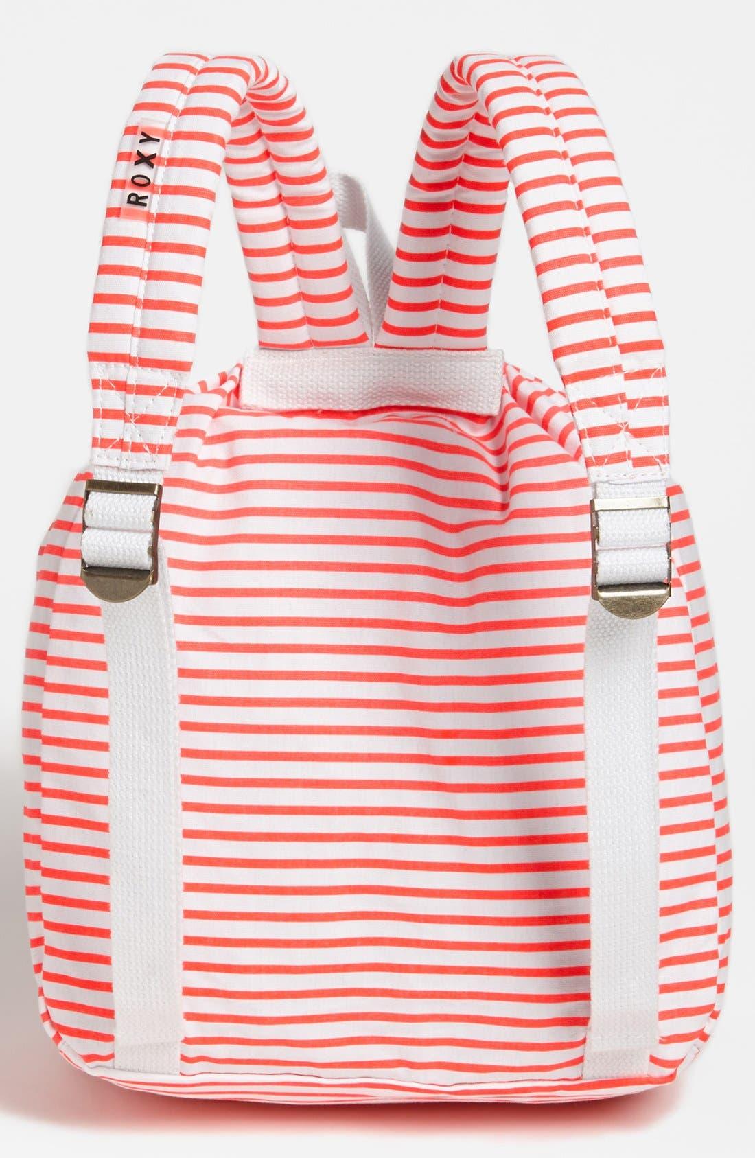 Alternate Image 3  - Roxy 'Pinch It Up' Beach Bag (Girls)
