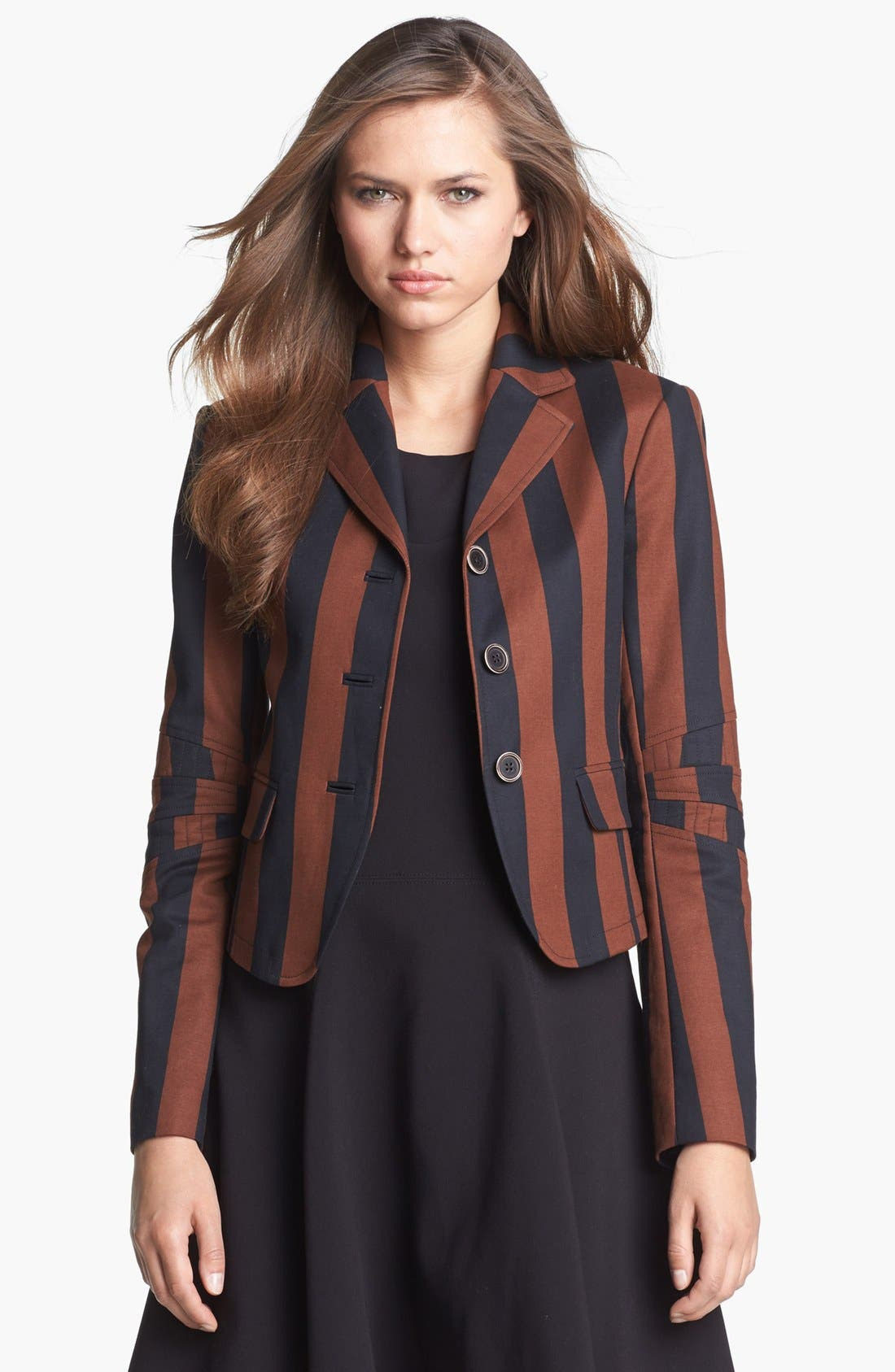 Alternate Image 1 Selected - Rachel Roy Stripe Blazer