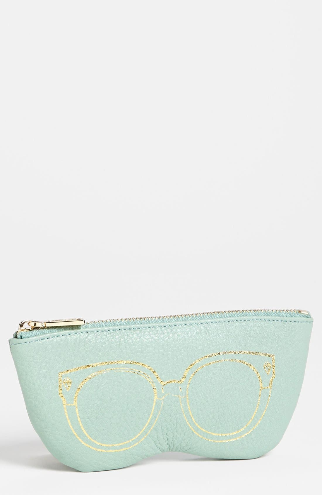 Alternate Image 1 Selected - Rebecca Minkoff Leather Sunglasses Case