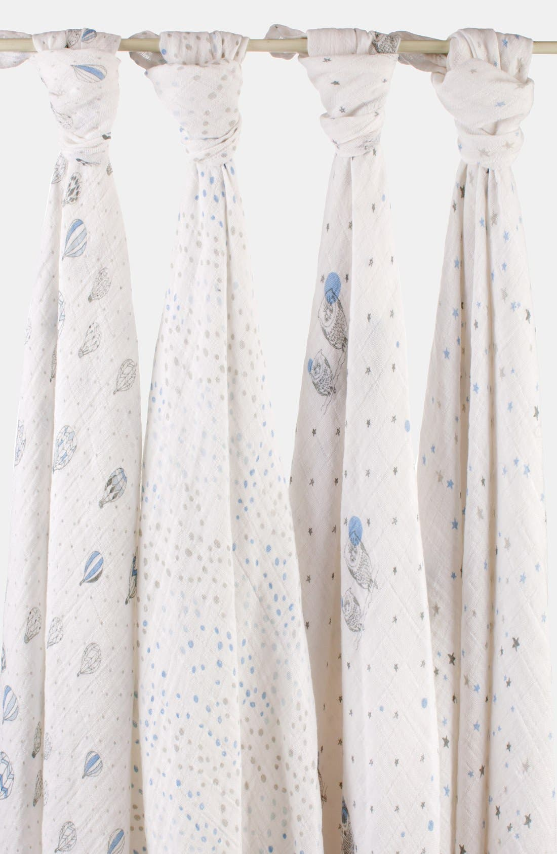 Alternate Image 1 Selected - aden + anais Classic Swaddling Cloths (4-Pack)