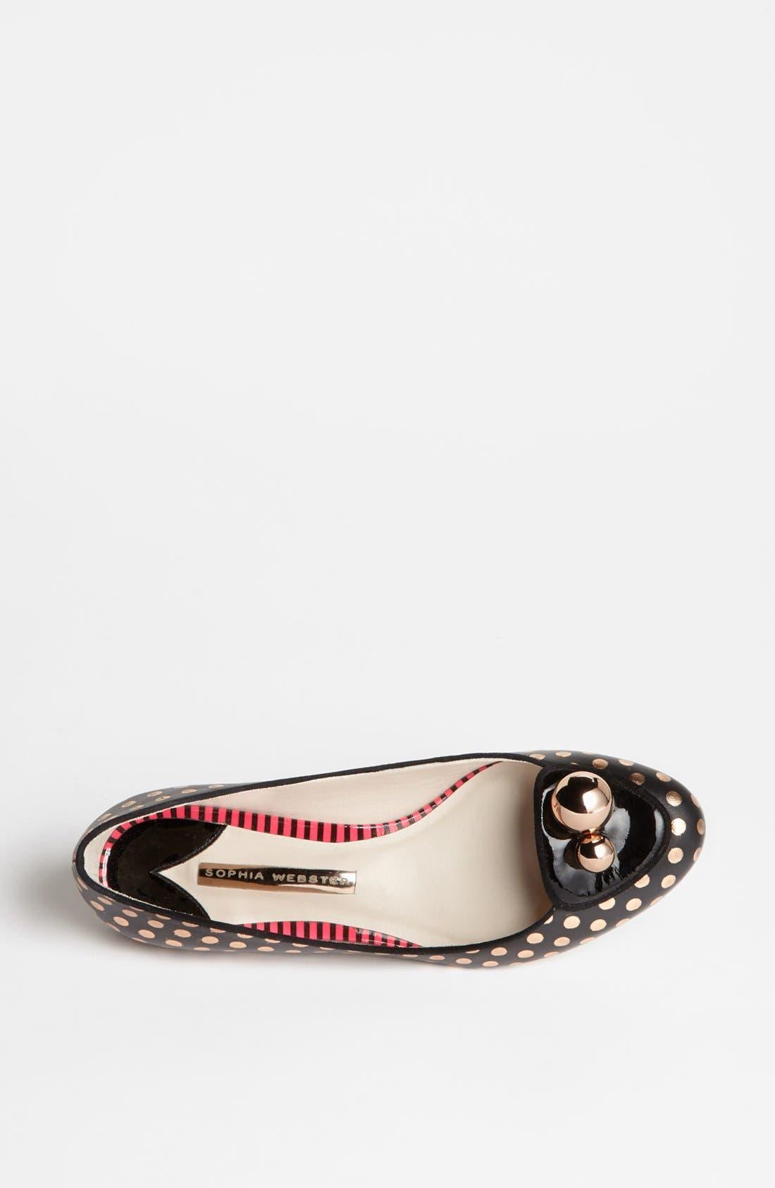 Alternate Image 3  - Sophia Webster 'Millie 5' Skimmer Flat (Online Only)
