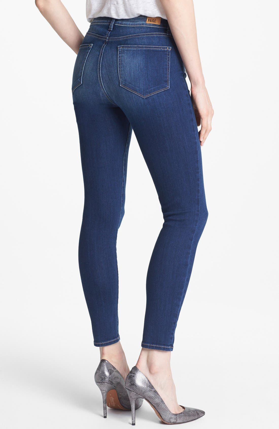 Alternate Image 2  - Paige Denim 'Hoxton' Skinny Ankle Jeans (Light Year)