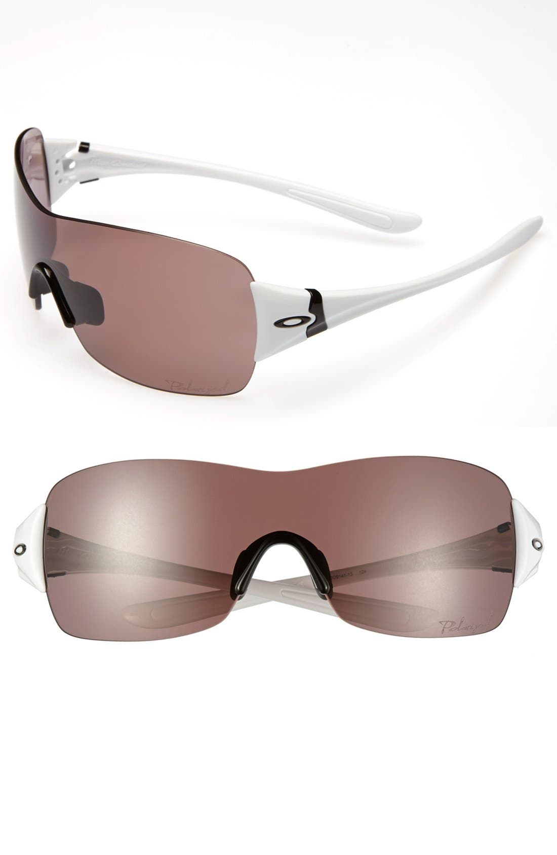 Alternate Image 1 Selected - Oakley 'Miss Conduct' 137mm Polarized Sunglasses