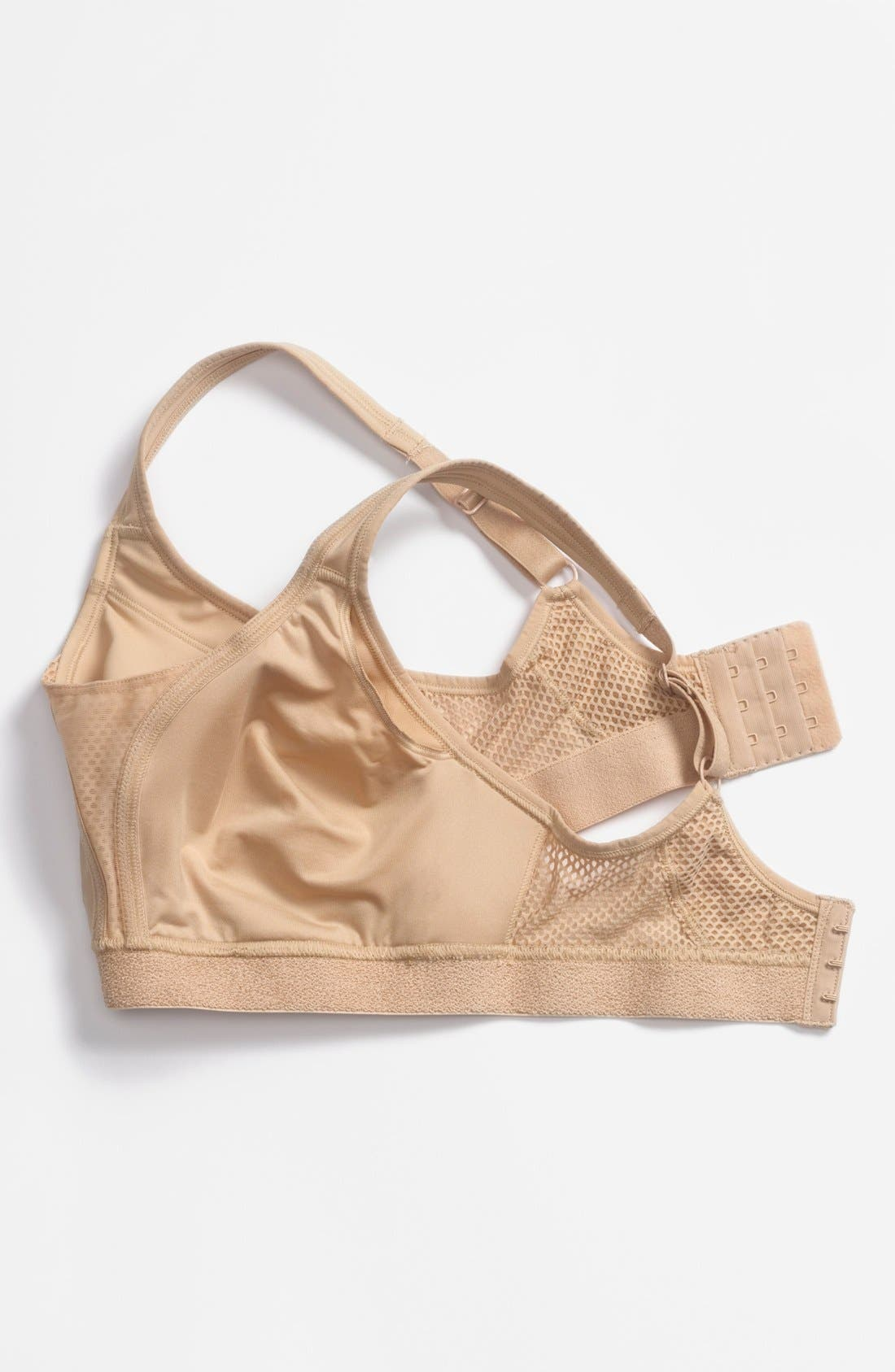 Performance Soft Cup Bra,                             Alternate thumbnail 4, color,                             Nude