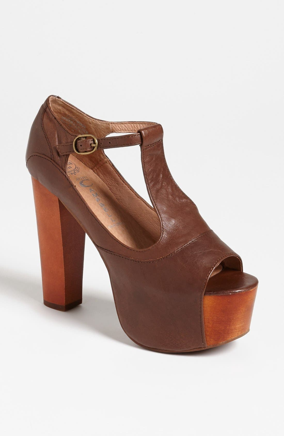 Alternate Image 1 Selected - Jeffrey Campbell 'Foxy' Platform Sandal
