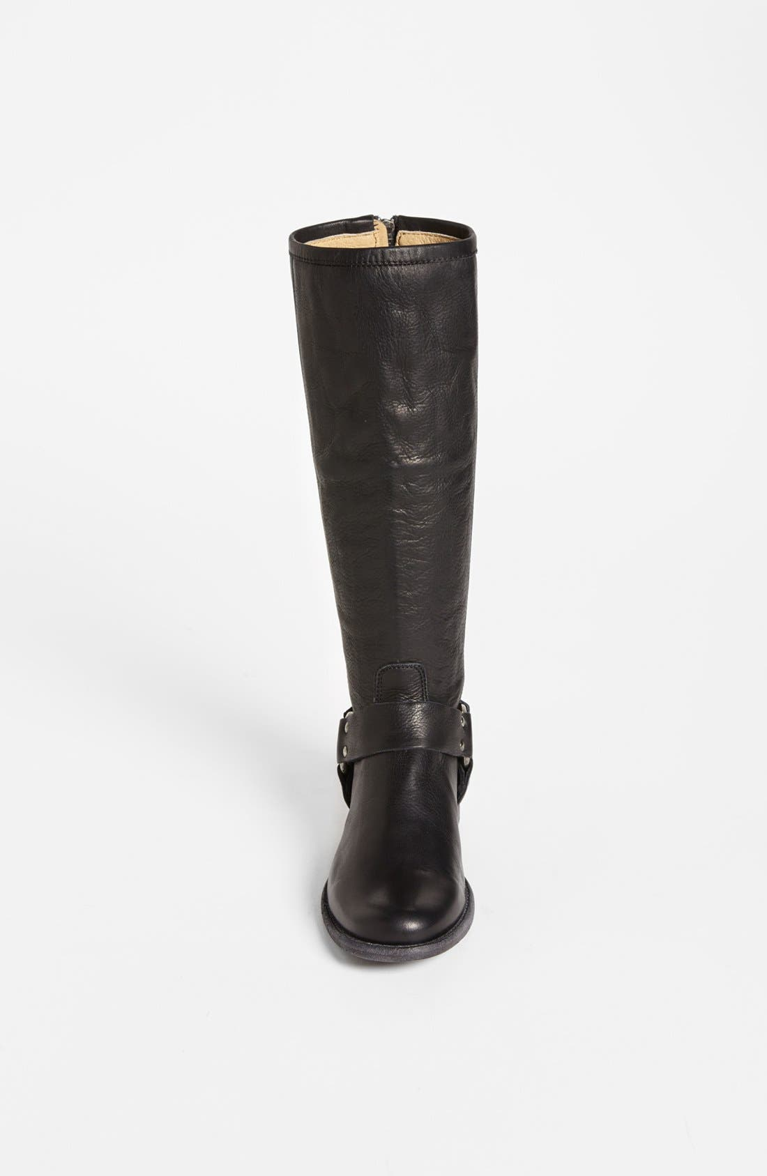 Alternate Image 3  - Frye 'Phillip Harness' Tall Washed Leather Riding Boot (Women)