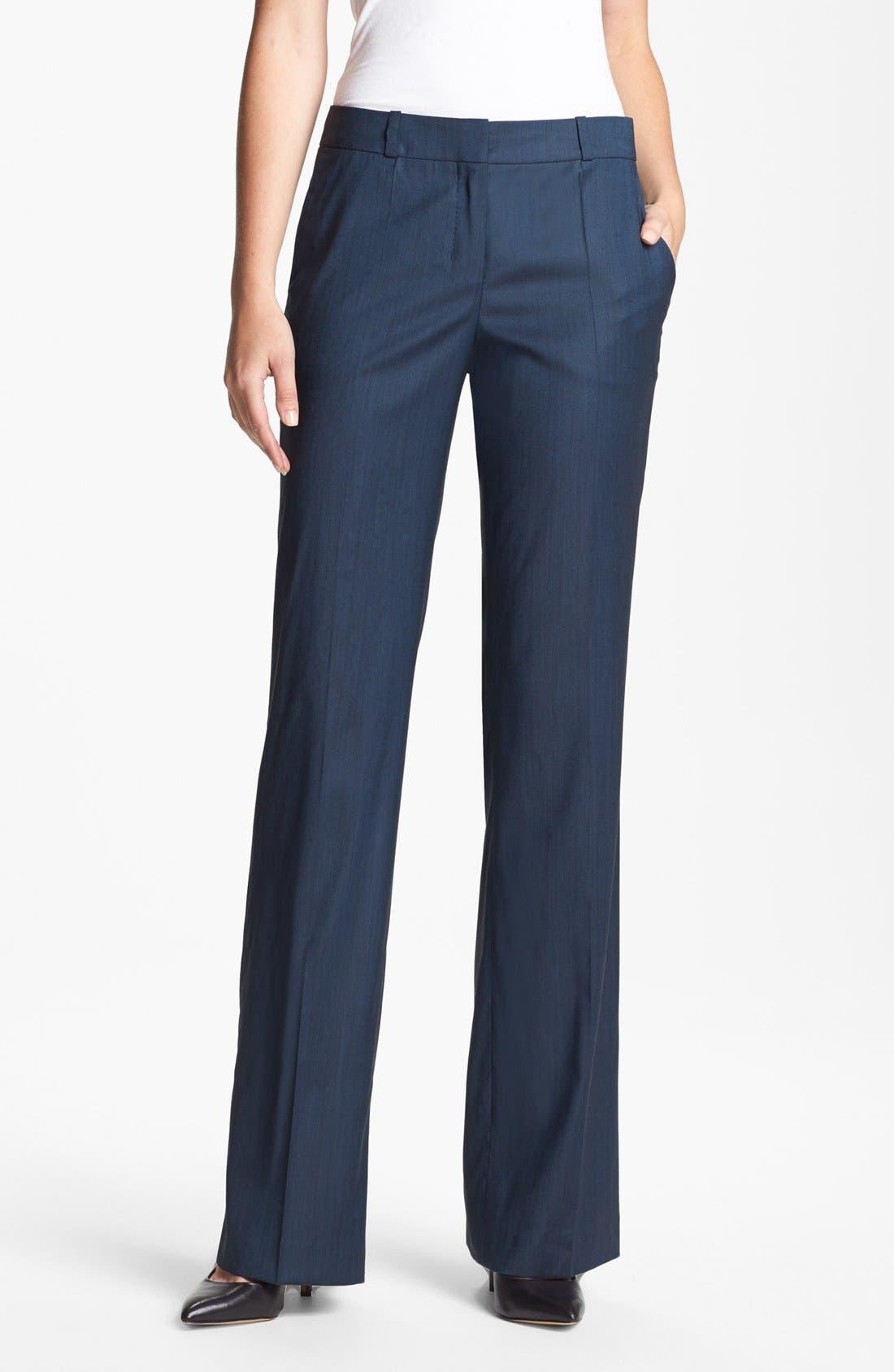 Alternate Image 1 Selected - BOSS HUGO BOSS 'Tulira' Trousers