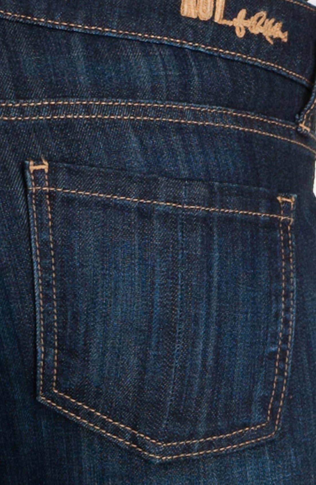 Alternate Image 3  - KUT from the Kloth 'Catherine' Slim Boyfriend Jeans (Royal) (Regular & Petite)