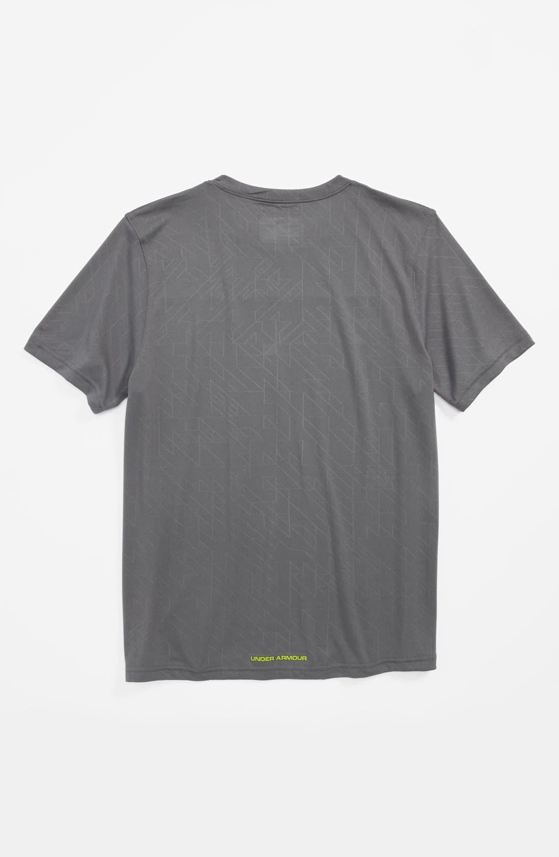 Alternate Image 2  - Under Armour 'Brouhaha' HeatGear® T-Shirt (Big Boys)