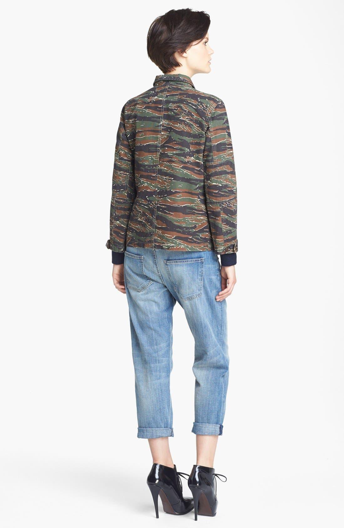 Alternate Image 4  - A.P.C. Vintage Camouflage Jacket