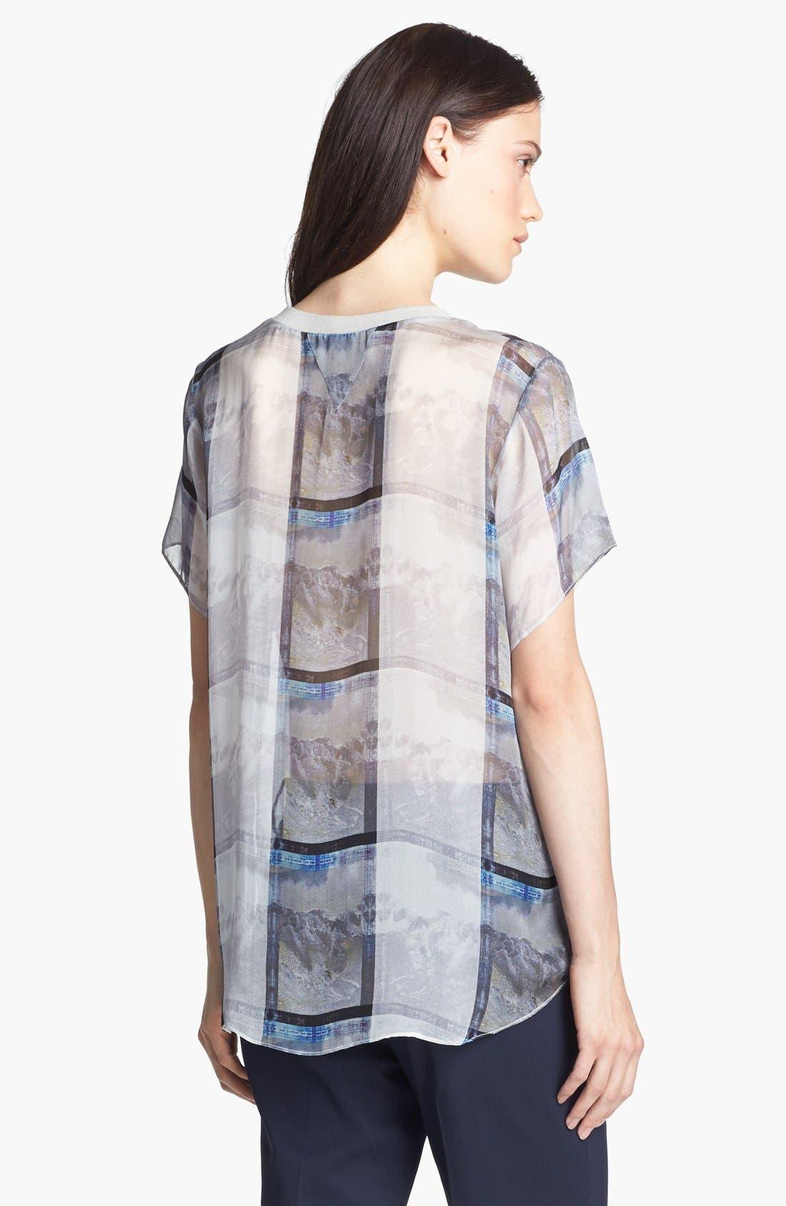 Alternate Image 3  - Theyskens' Theory 'Bonit Istripe' Silk Blouse