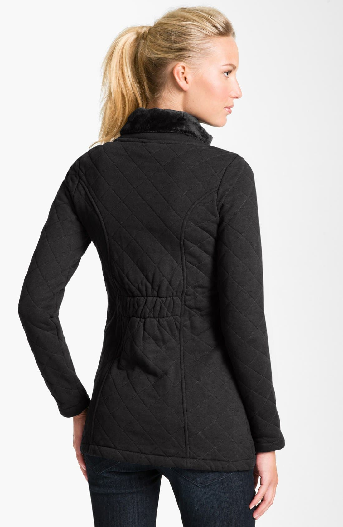 Alternate Image 2  - The North Face 'Caroluna' Quilted Fleece Jacket