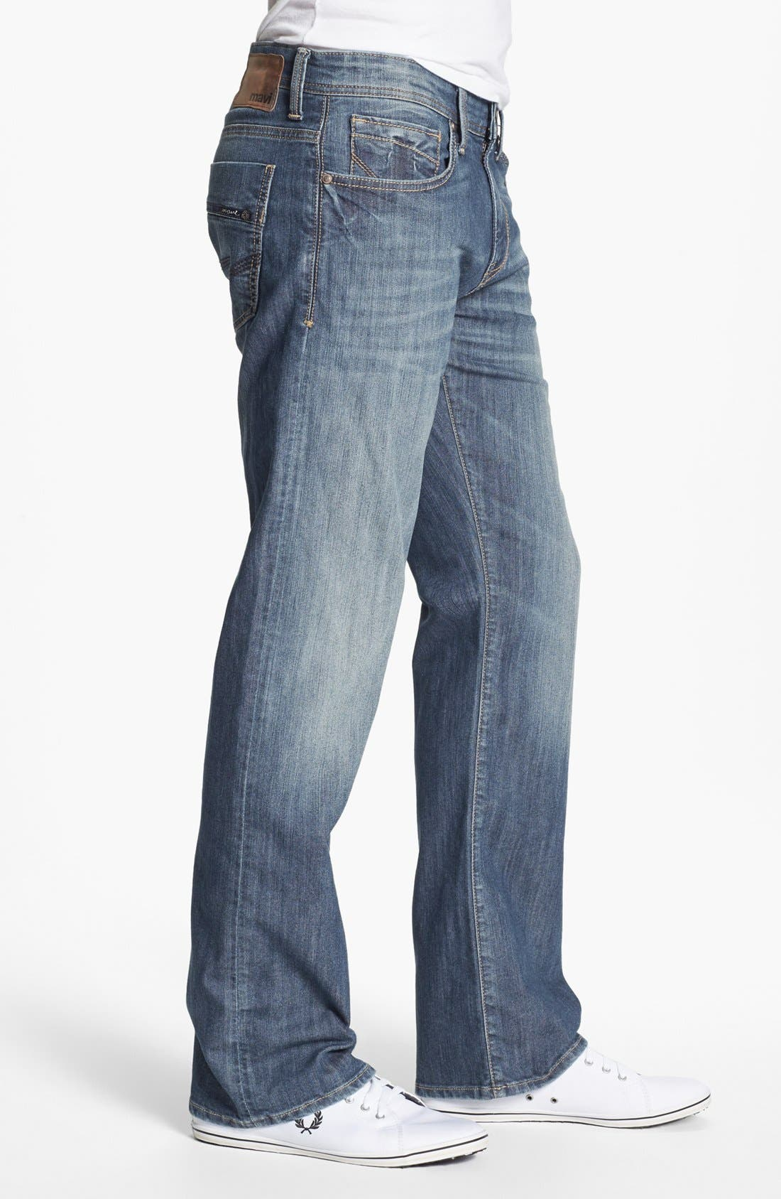 Alternate Image 3  - Mavi Jeans 'Josh' Bootcut Jeans (Brushed American Comfort) (Online Only)