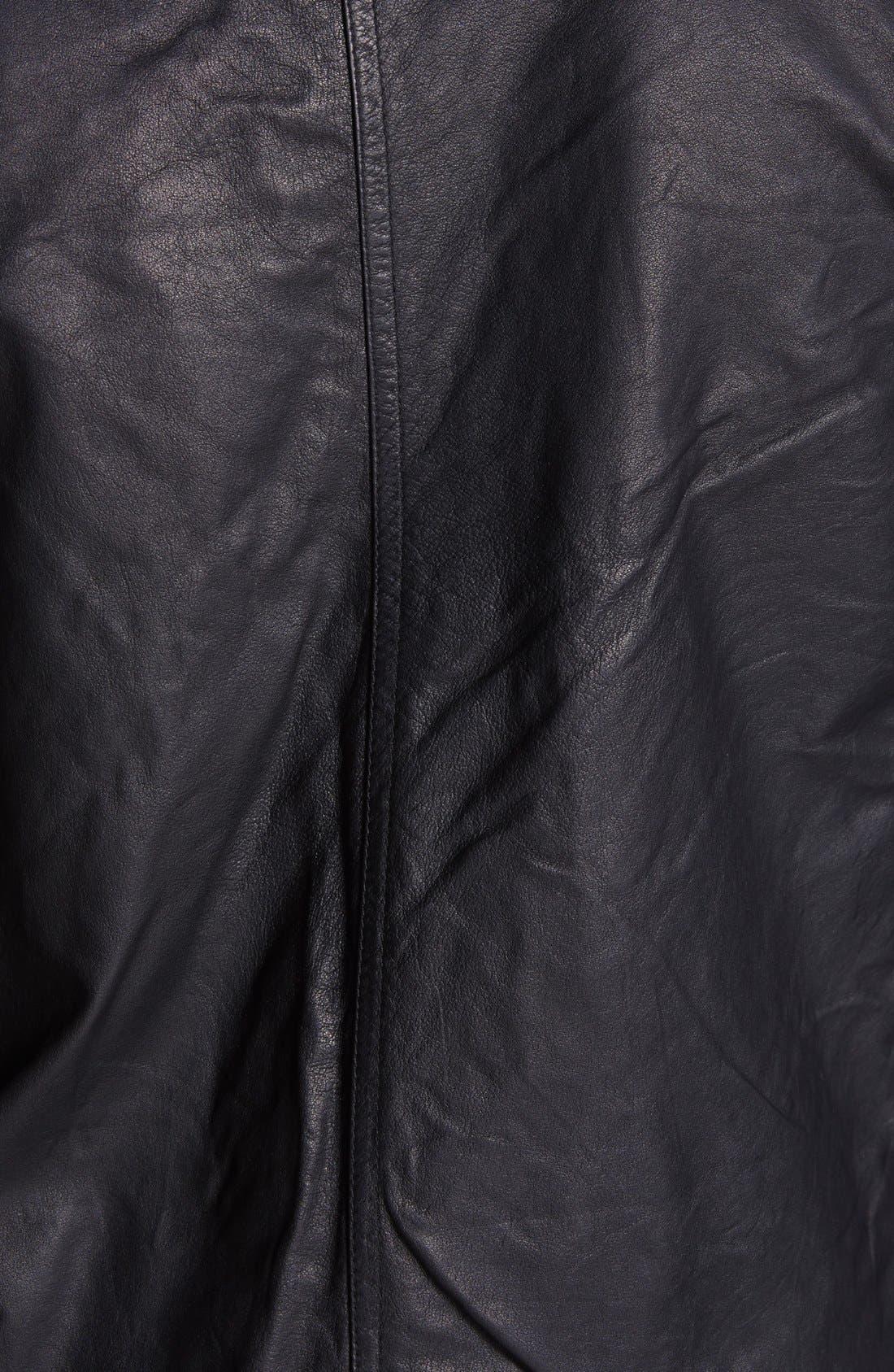 Alternate Image 3  - rag & bone 'Macclesfield' Kangaroo Leather Jacket