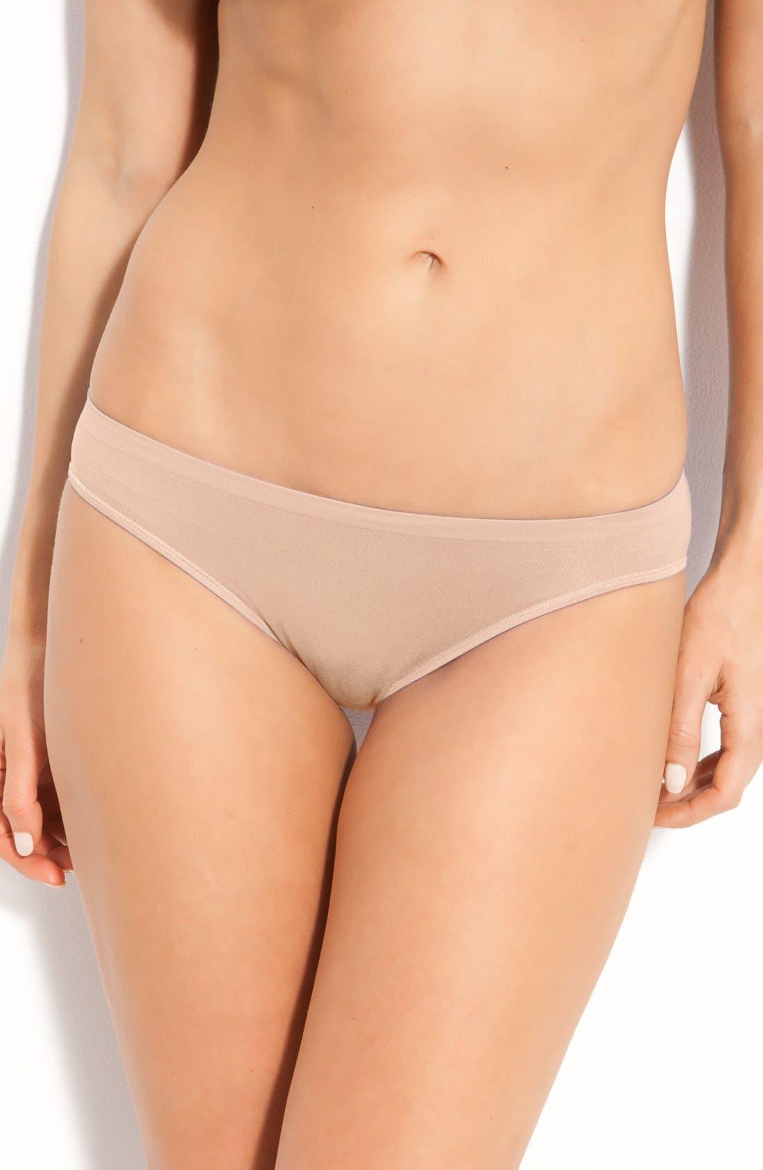 Main Image - Shimera Seamless Bikini Panties (Online Only)