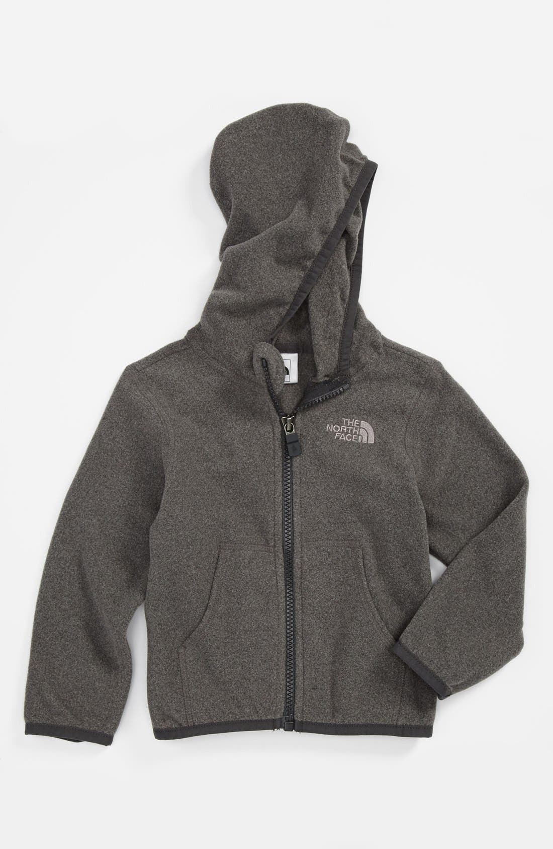Alternate Image 1 Selected - The North Face 'Glacier' Full Zip Hoodie (Baby)