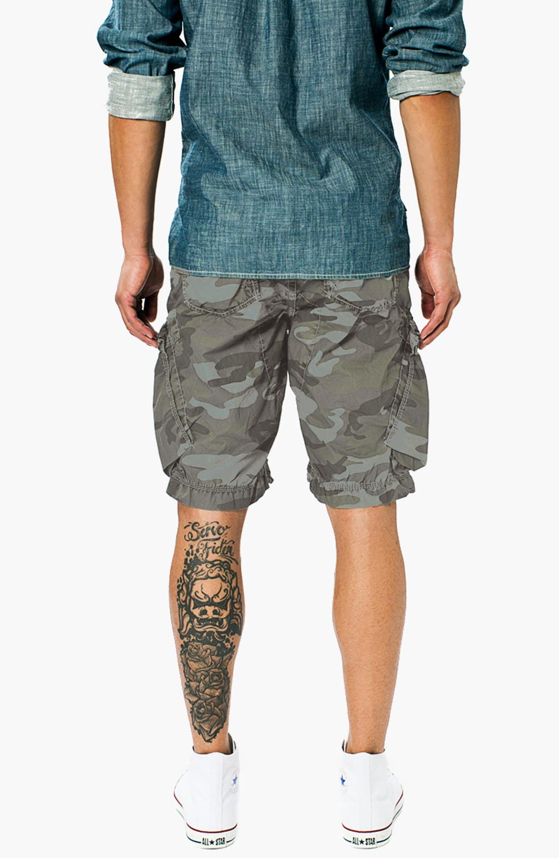 Alternate Image 3  - Union 'New Duke' Camo Cargo Shorts