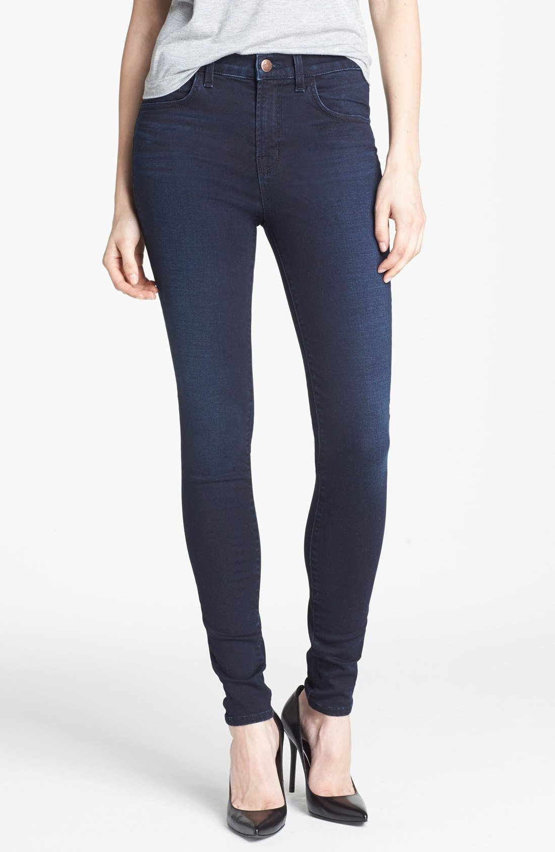 Alternate Image 1 Selected - J Brand '2311 Maria' High Rise Skinny Jeans (Atmosphere)